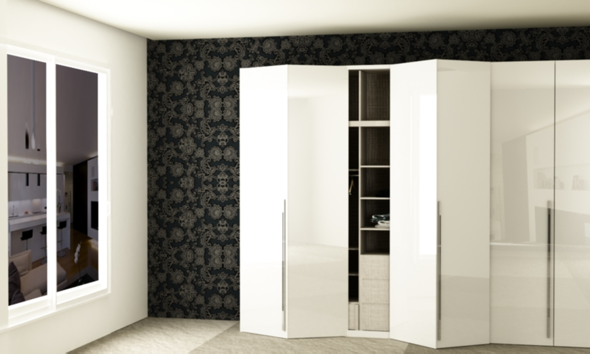 Well Known Folding Door Wardrobes Intended For Folding Door Wardrobe (View 4 of 15)