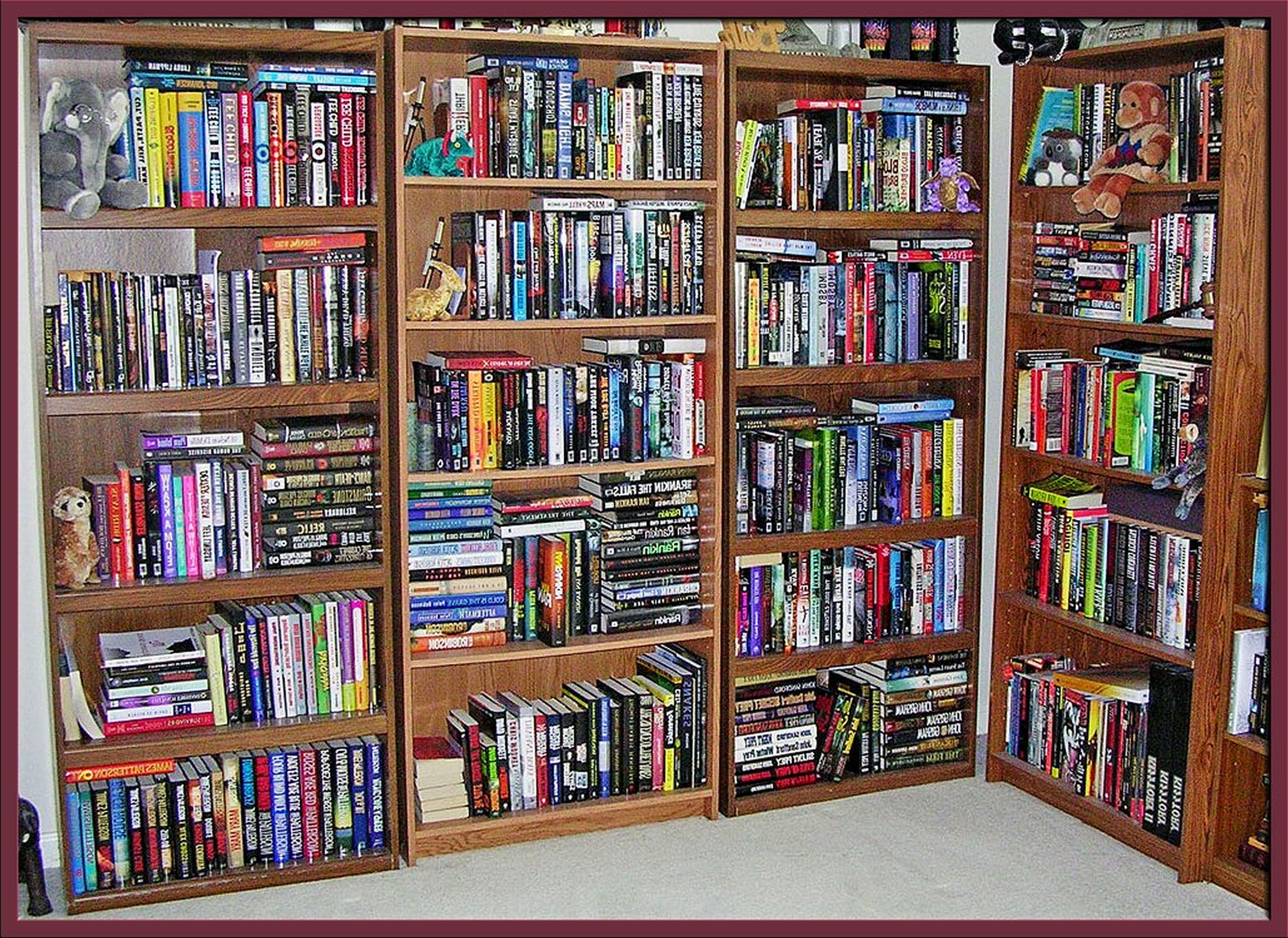 Well Known Full Wall Bookcases Pertaining To Marvelous Full Wall Of Bookshelves Images Inspiration – Tikspor (View 14 of 15)