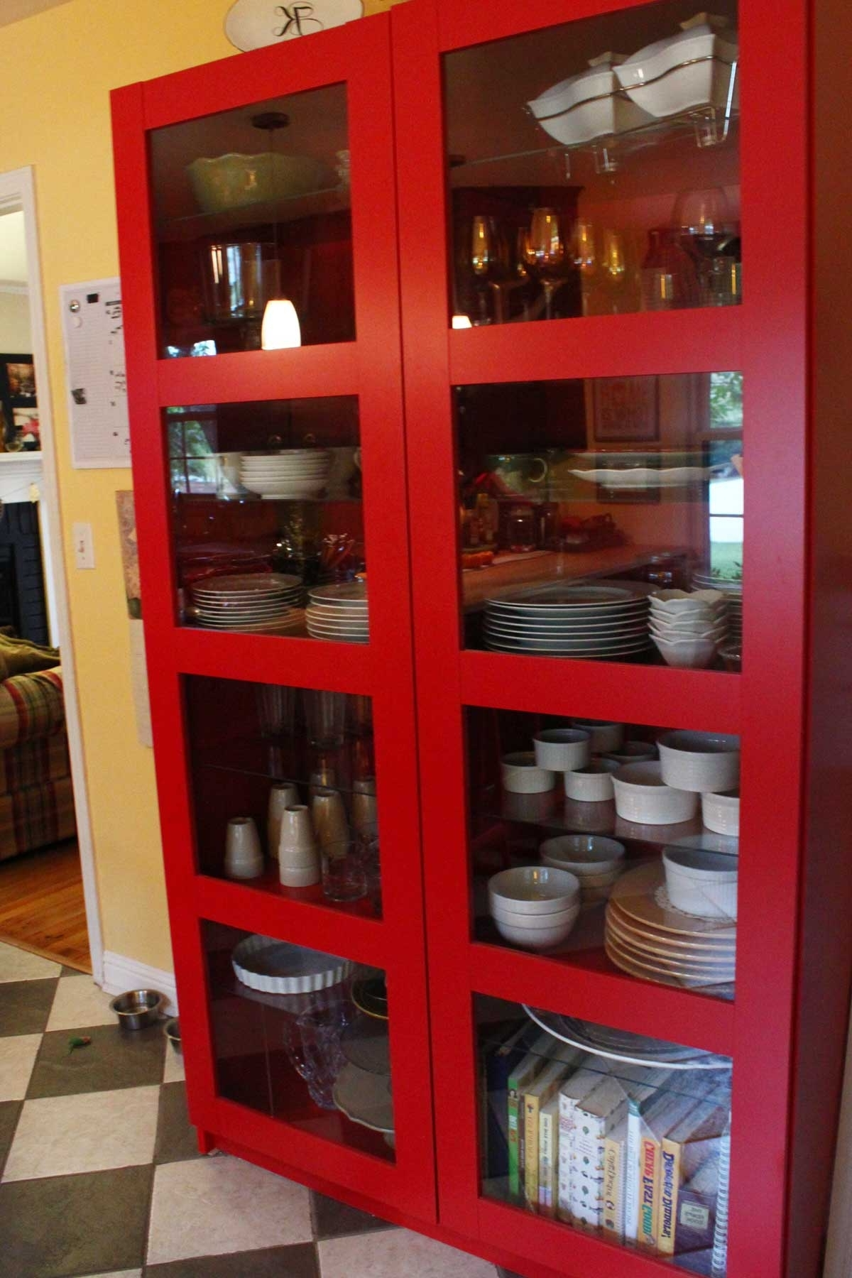 Well Known Furniture Home: Red Bookcases Teakpeter Hvidt For Soborg Sale In Red Bookcases (View 10 of 15)
