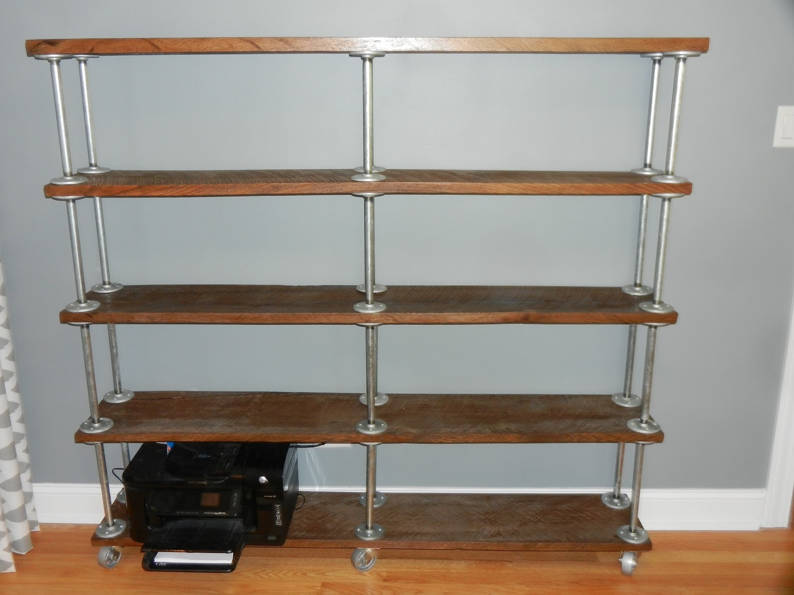 Well Known Galvanized Pipe Bookcase – Google Search (View 15 of 15)