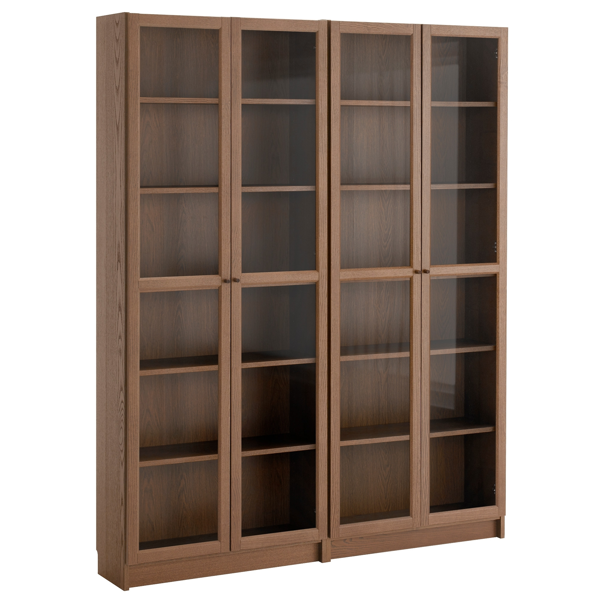 Well Known Glass Front Bookcases For Billy / Oxberg Bookcase – White/glass – Ikea (View 15 of 15)