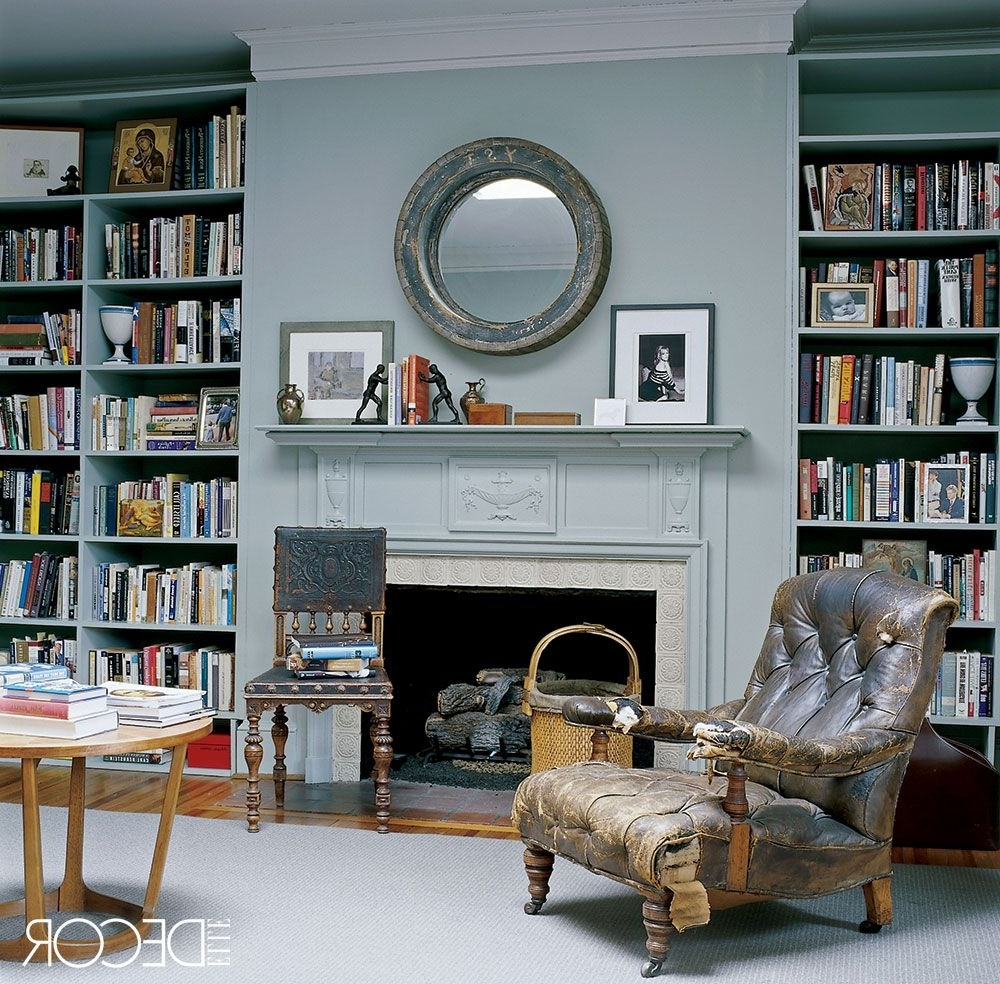 Featured Photo of Colored Bookcases