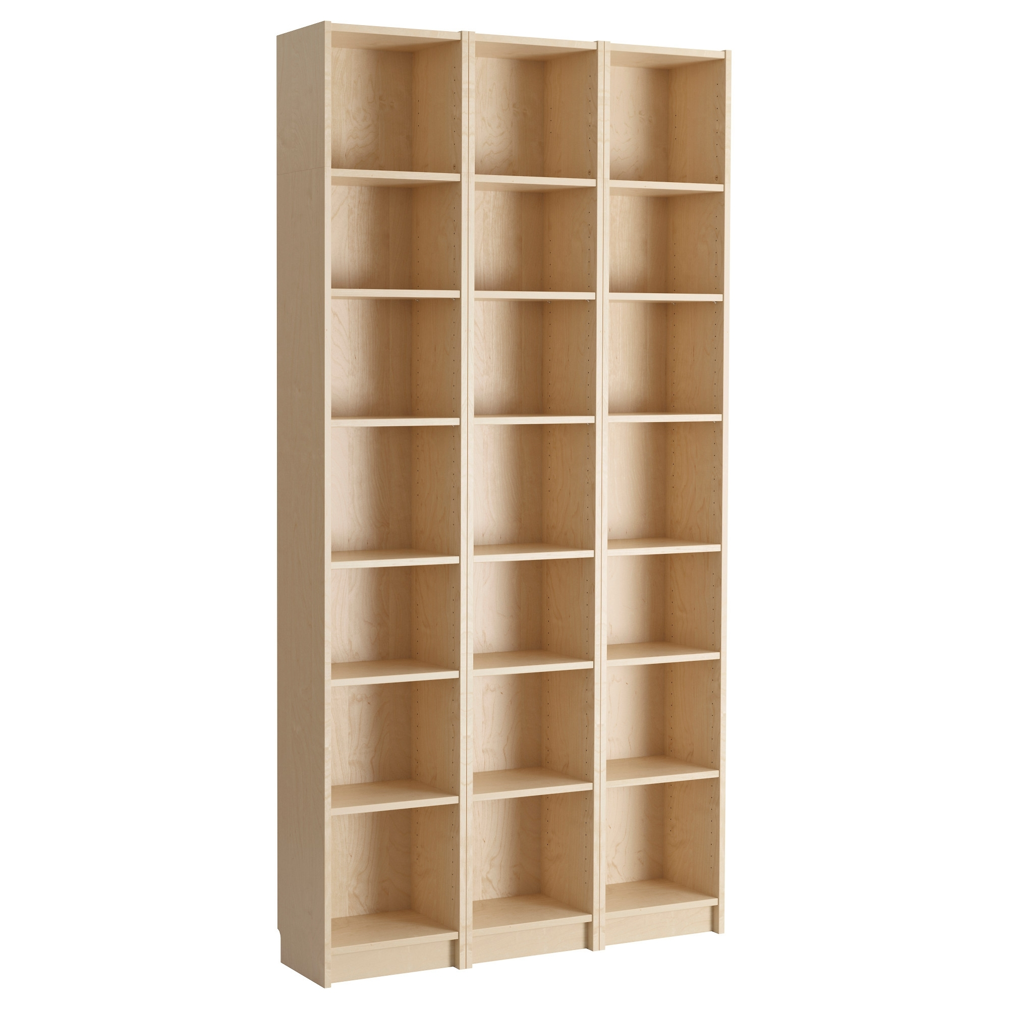 Well Known Ikea Billy Bookcases Pertaining To Billy Bookcase – Birch Veneer – Ikea (View 8 of 15)