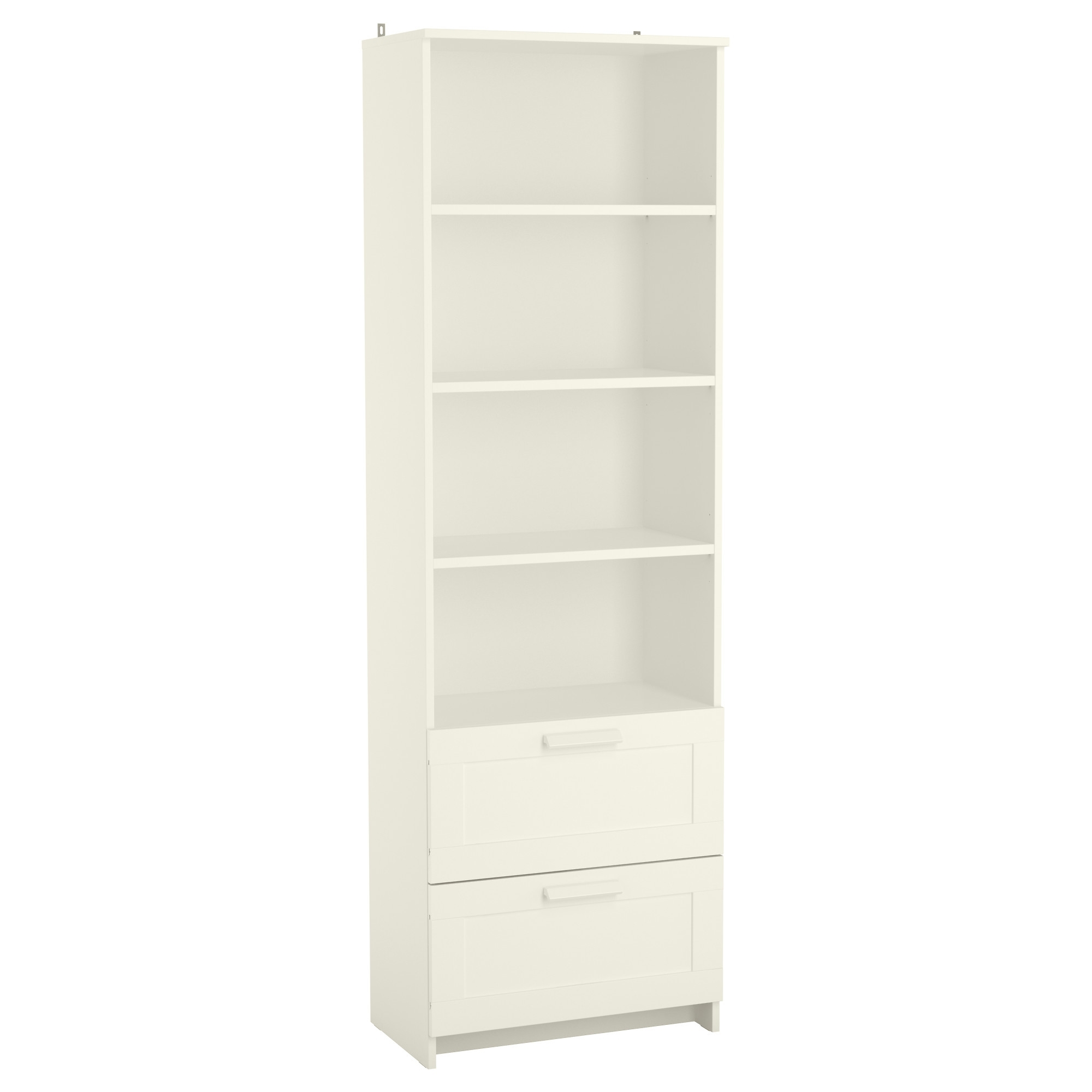 Well Known Ikea White Bookcases Throughout Brimnes Bookcase – White – Ikea (View 8 of 15)