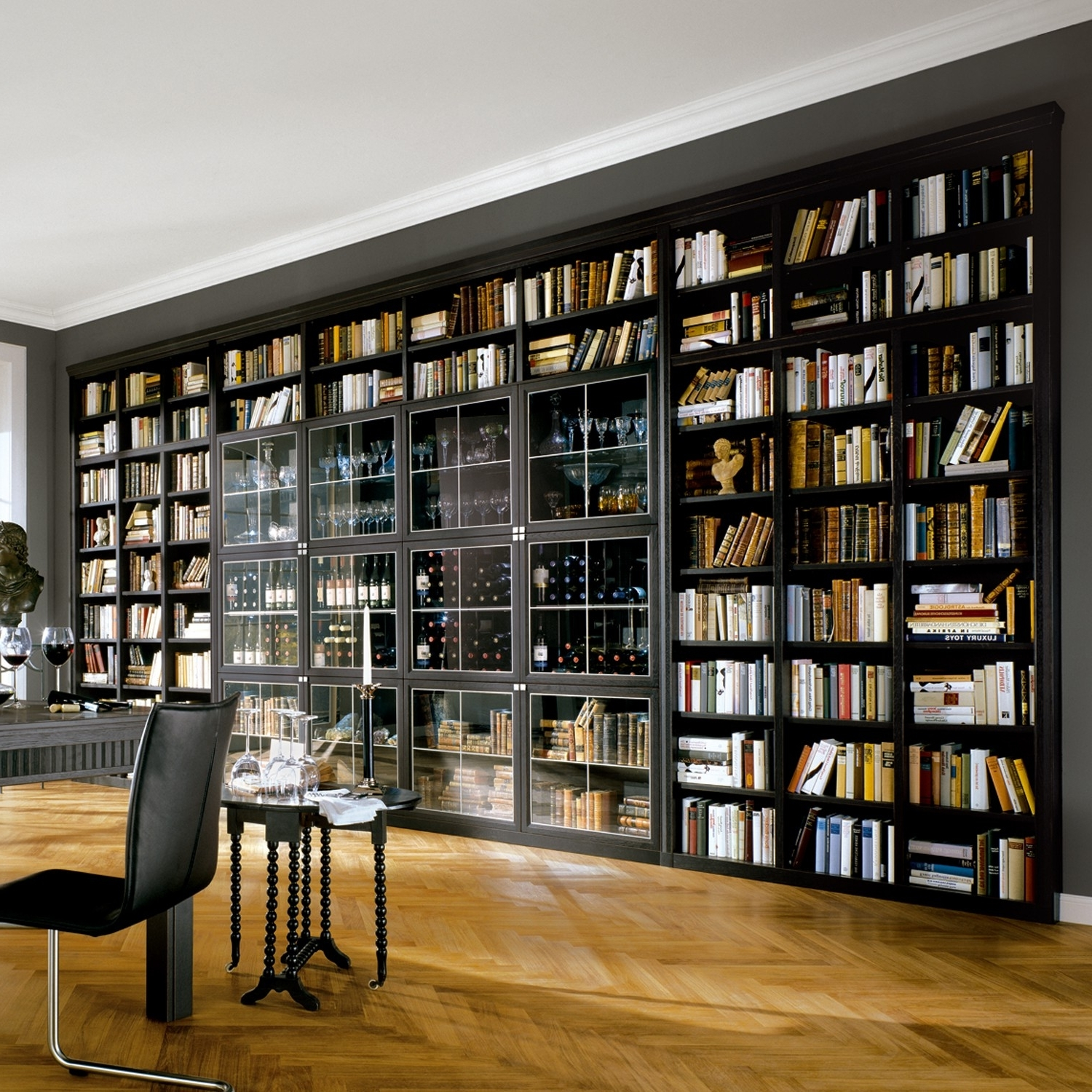 Featured Photo of Library Shelves For Home