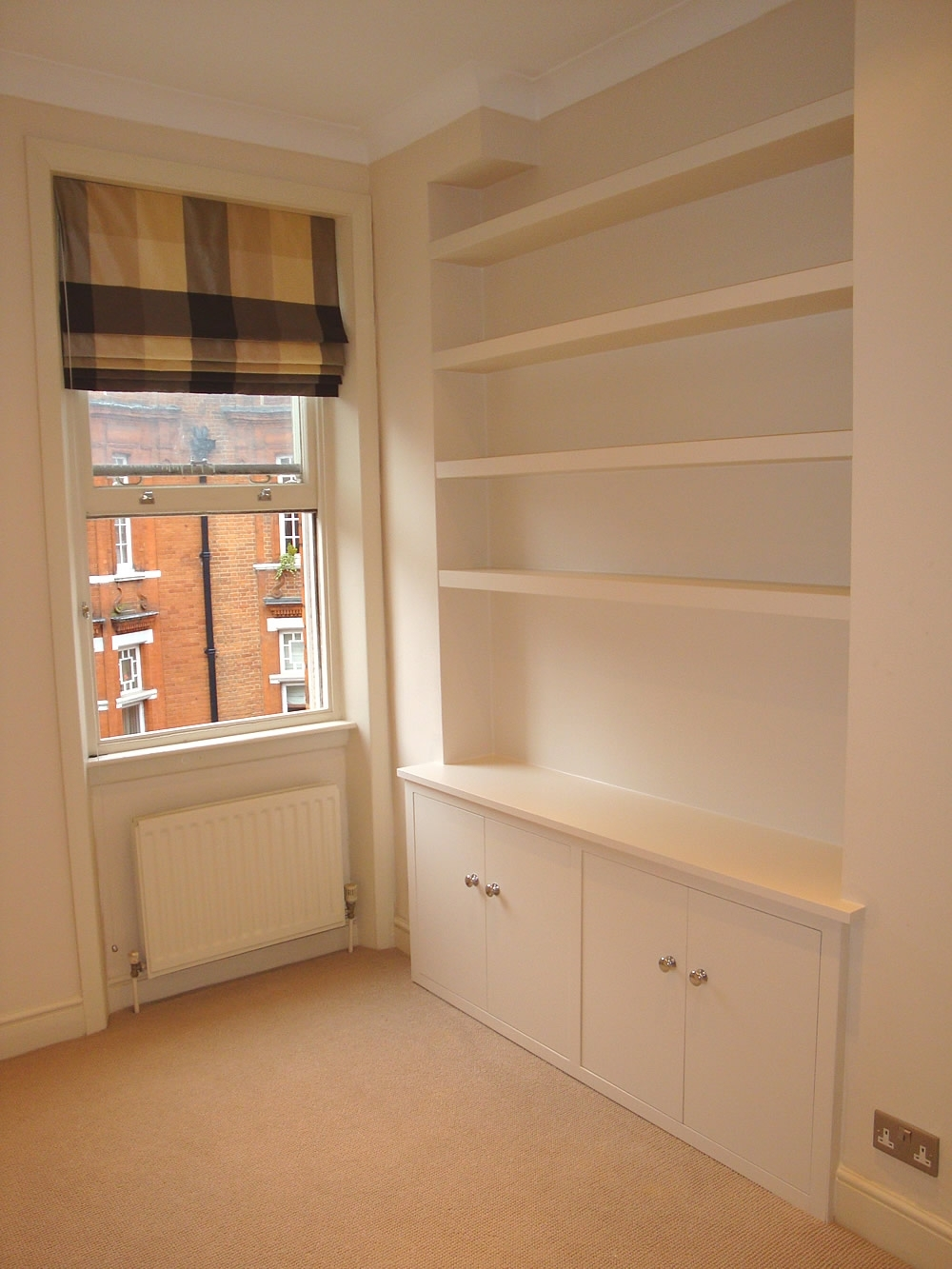 Well Known Made To Measure Cabinets Within Chunky Floating Shelves And Bespoke Cabinets By London Carpenter (View 2 of 15)