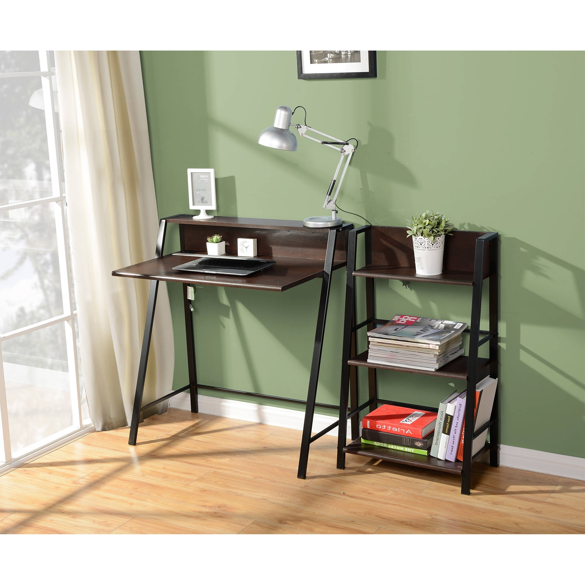 Well Known Mainstays 3 Shelf Bookcase, Multiple Finishes – Walmart In 3 Shelf Bookcases Walmart (View 15 of 15)