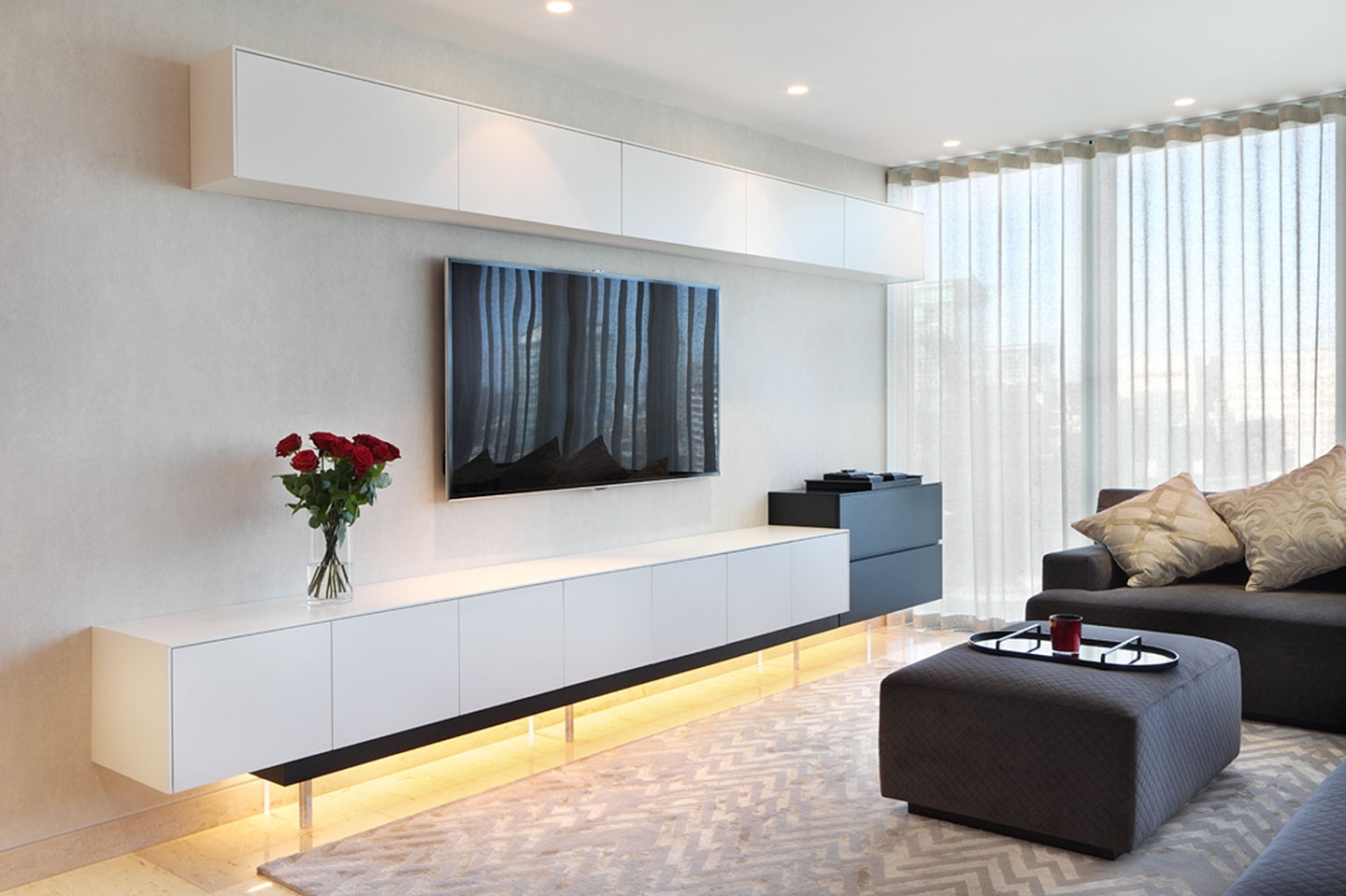 Well Known Media Cabinets Londonwyndham Design Throughout Bespoke Tv Units (View 15 of 15)