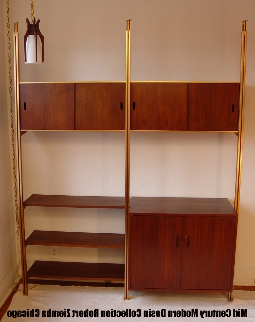 Well Known Mid Century Bookshelves – Artenzo Throughout Midcentury Bookcases (View 11 of 15)