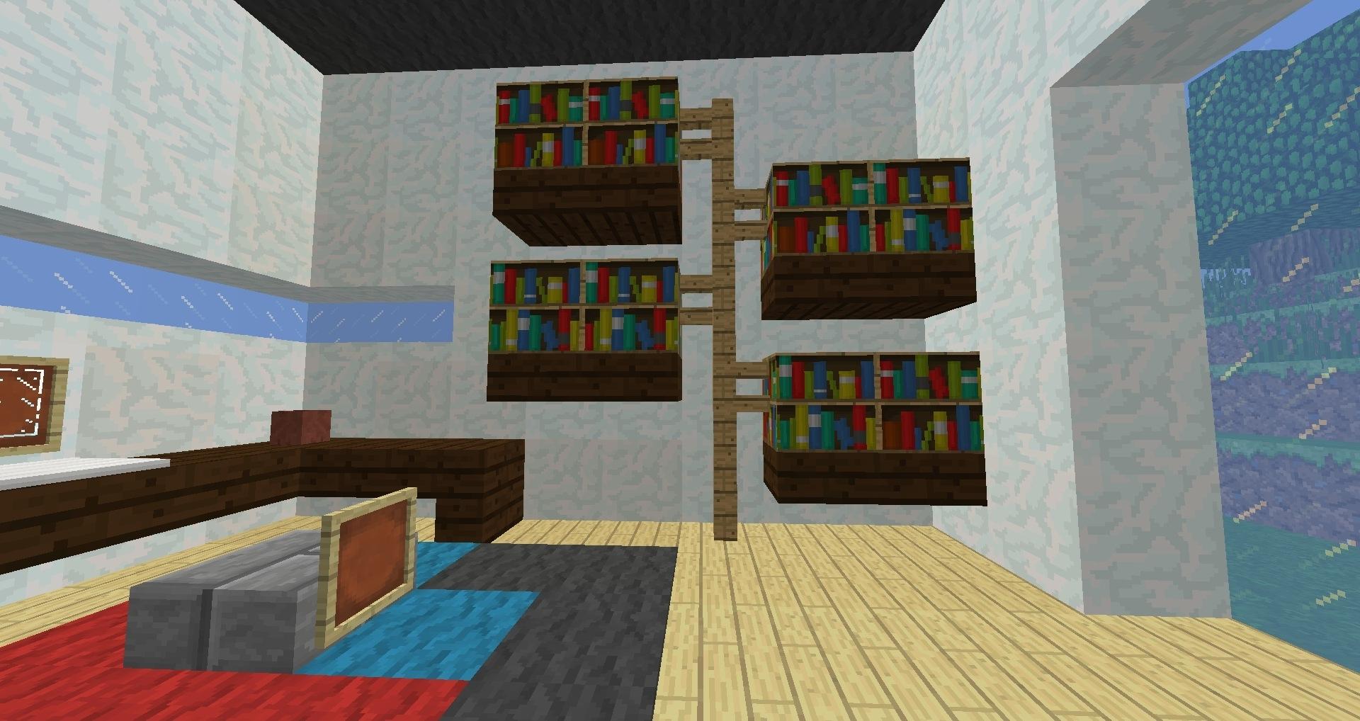 Well Known Minecraft Bookcases In Minecraft Furniture – Storage (View 15 of 15)