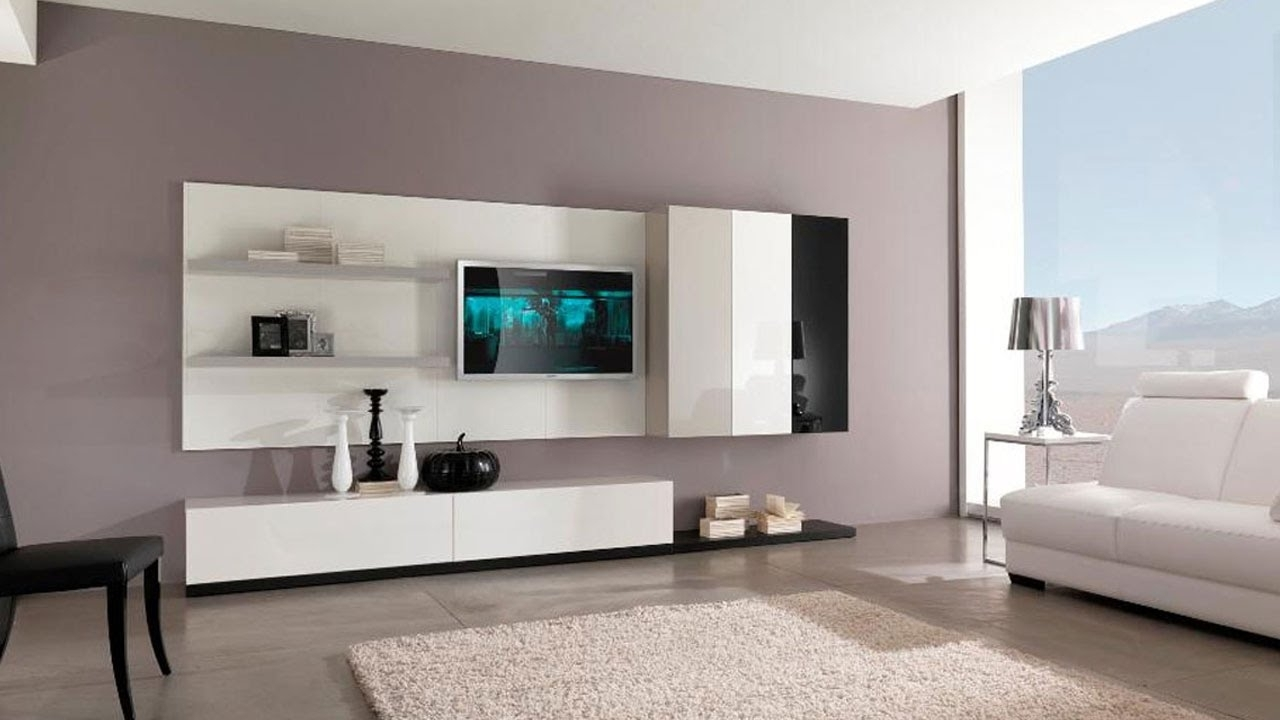Well Known Modern Tv Wall Units Intended For Best Top 30 Modern Tv Cabinet Wall Units Furniture Designs Ideas (View 5 of 15)