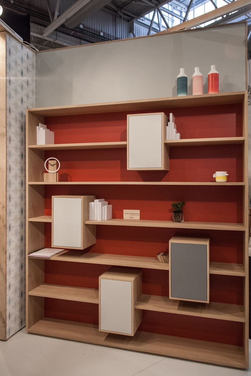 Well Known Modern Wall Bookshelves With Intricate And Unexpected Design Pertaining To Large Bookshelves Units (View 11 of 15)