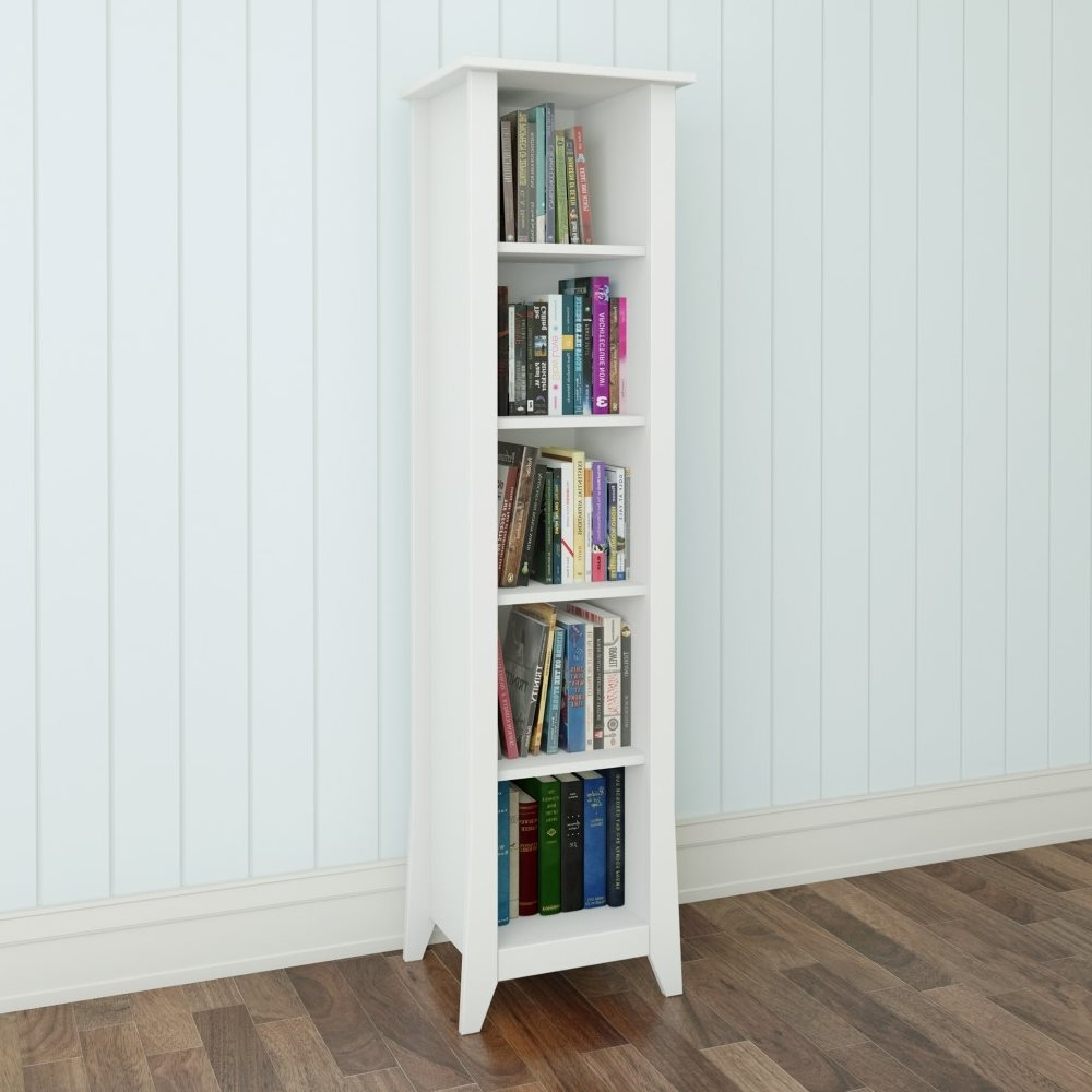 Well Known Nexera 200203 Vice Versa Slim Bookcase (View 13 of 15)
