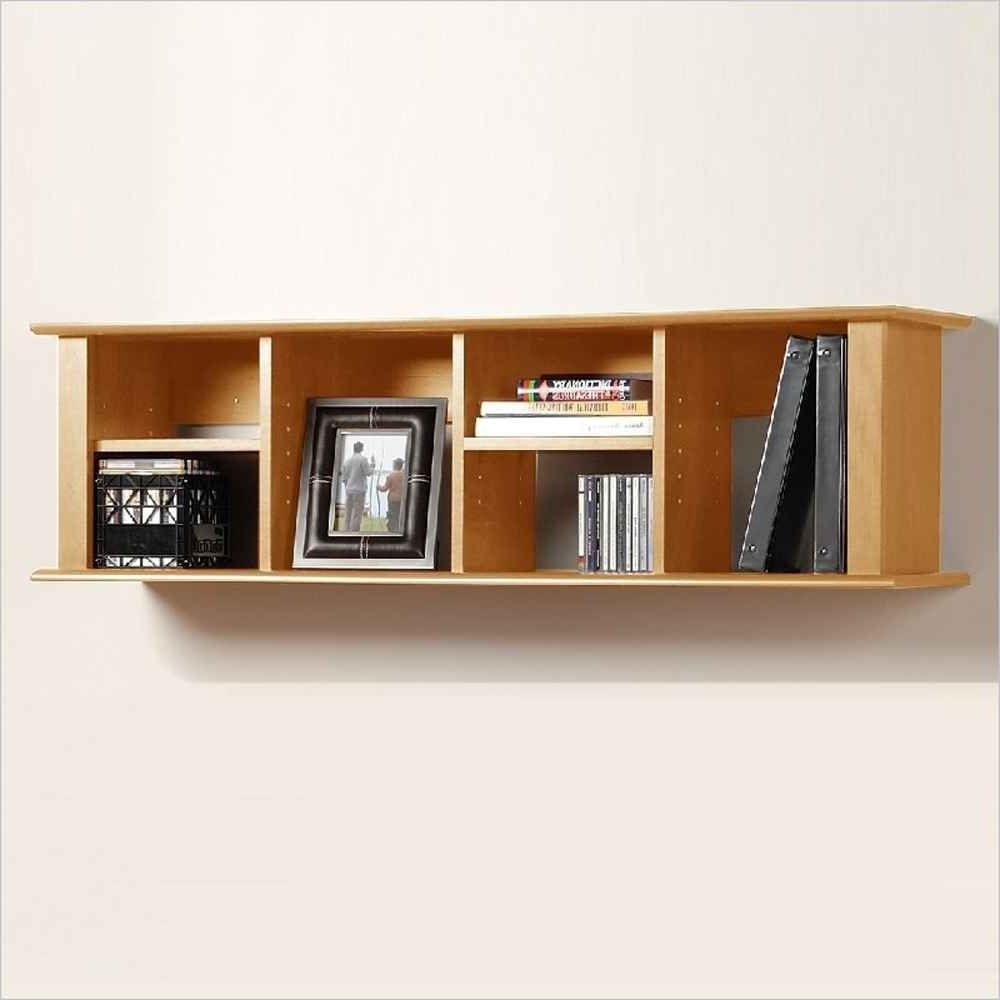 Well Known Organized Wall Mount Bookshelf For More Room Space Available With Wall Mounted Bookcases (View 13 of 15)