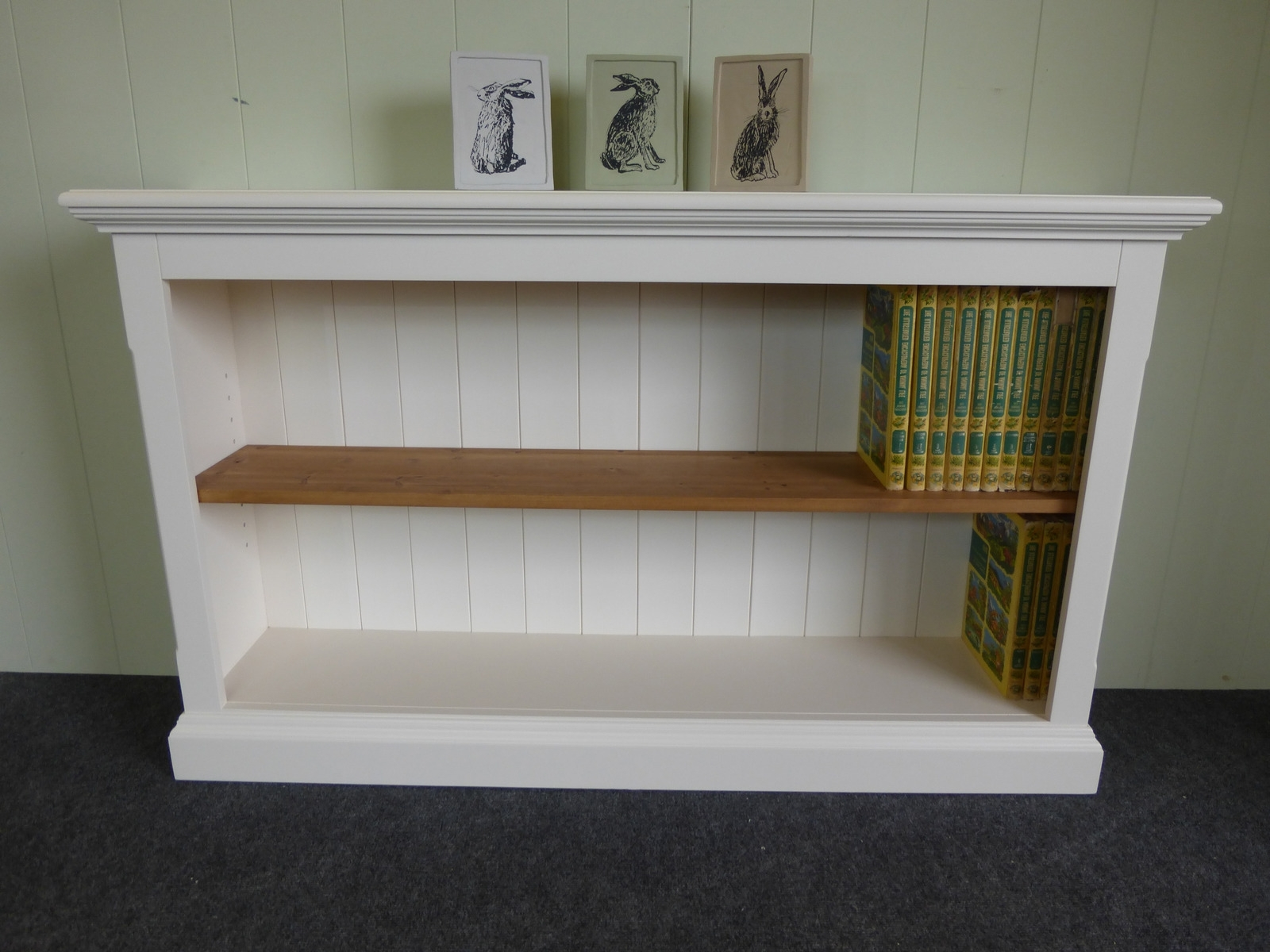 Well Known Painted Slim Depth Bookcases Huge Choice Of Sizes – Bookcases Regarding Slim Bookcases (View 14 of 15)