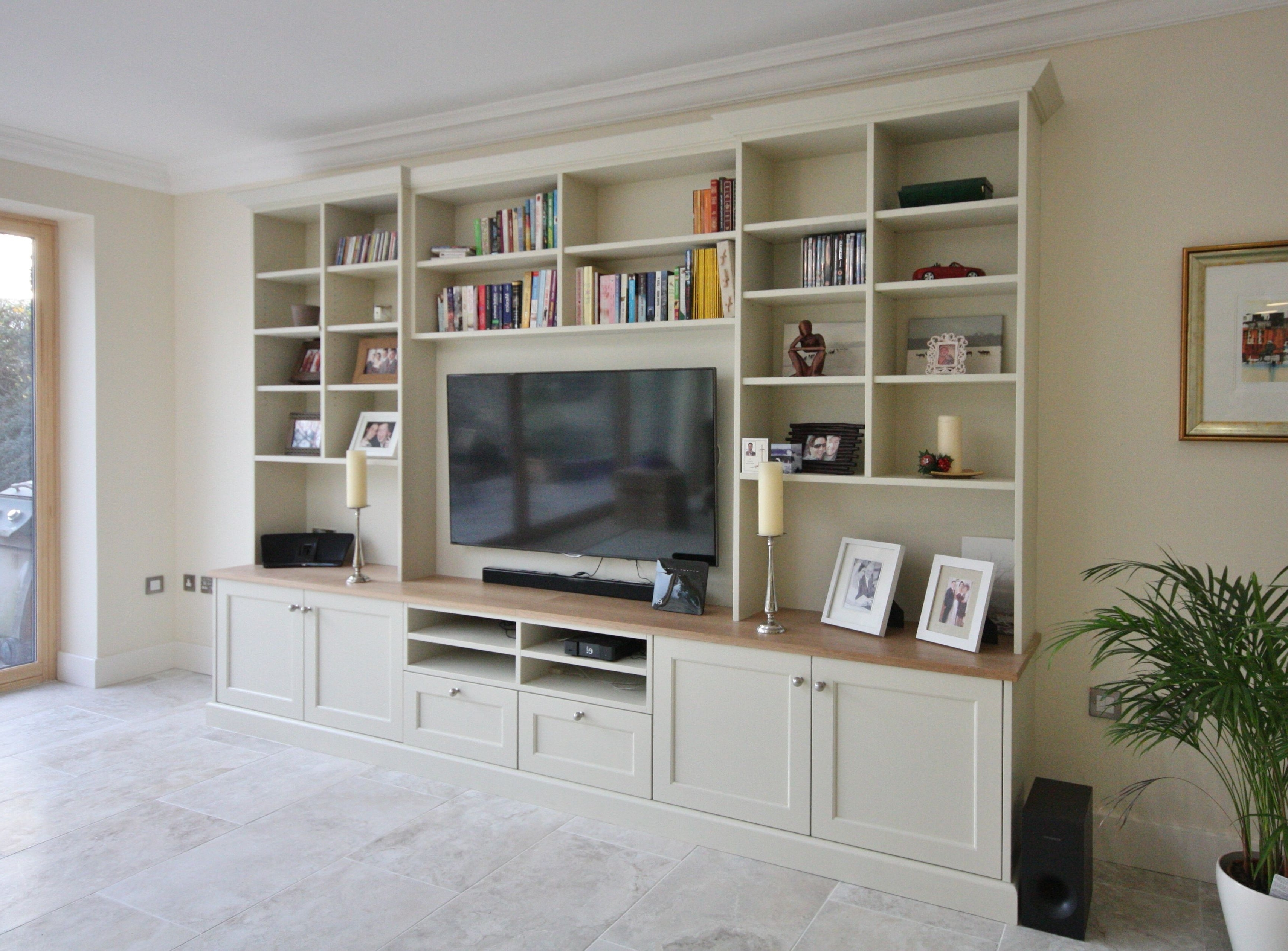 Well Known Painted Tv Unit Bespoke Cabinetry Enigma Wicklow (View 6 of 15)