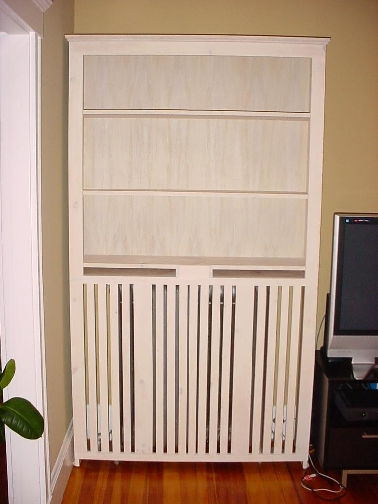 Well Known Radiator Cover And Bookcases In Lakota Custom Designs — Custom, Solid Wood Furniture (All Solid (View 14 of 15)