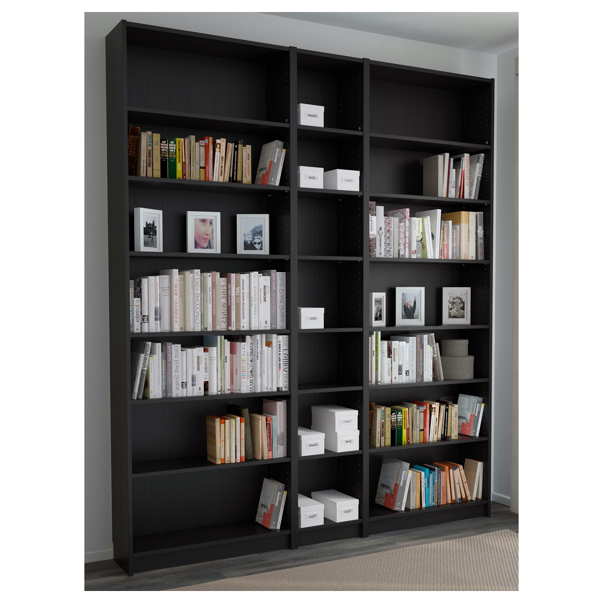 Well Known Replacement Shelves For Bookcases Regarding Billy Bookcase – White – Ikea (View 15 of 15)