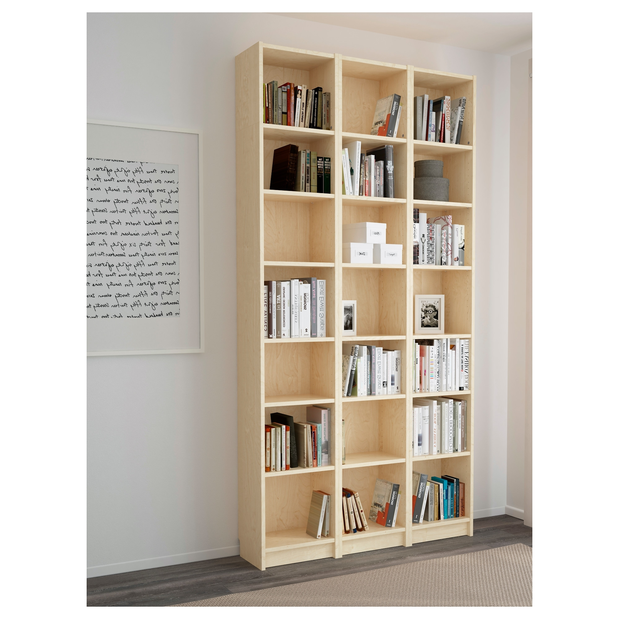 Well Known Shallow Bookcases For Billy Bookcase – White – Ikea (View 12 of 15)