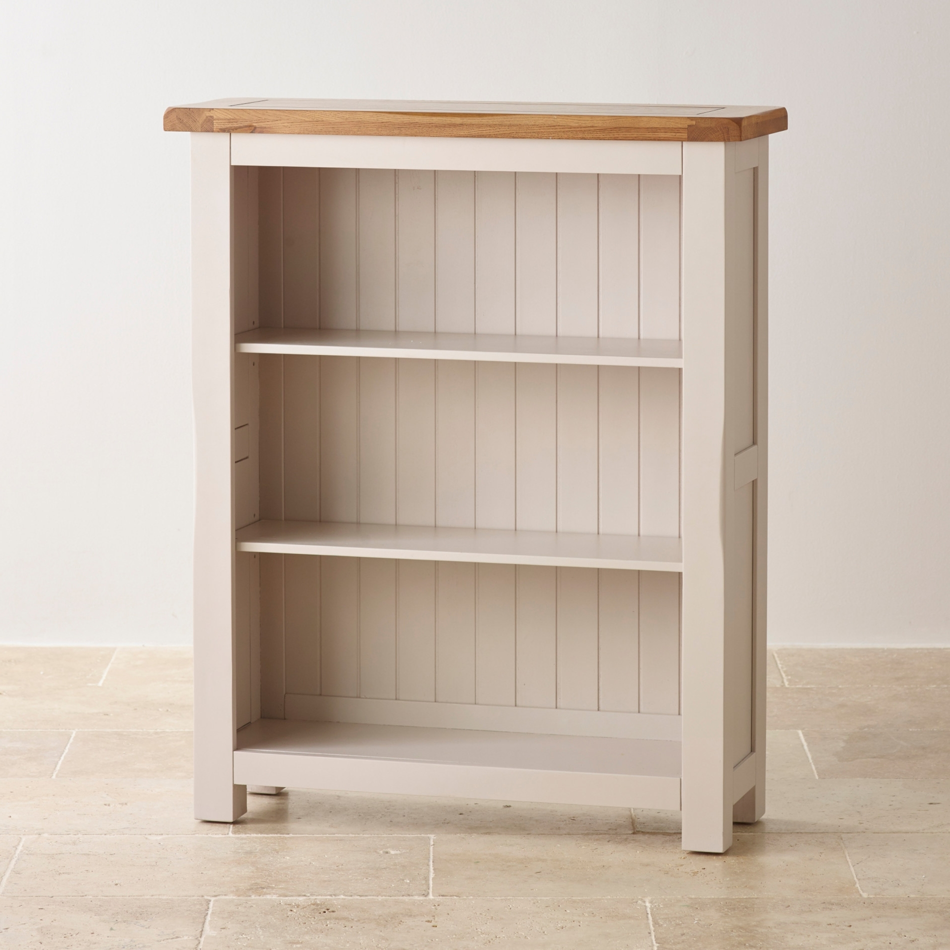 Well Known Solid Oak Bookcases With Regard To Kemble Small Solid Oak Small Bookcase (View 6 of 15)