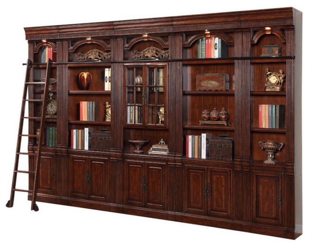 Well Known Traditional Bookcases Pertaining To Traditional Bookcases (View 8 of 15)