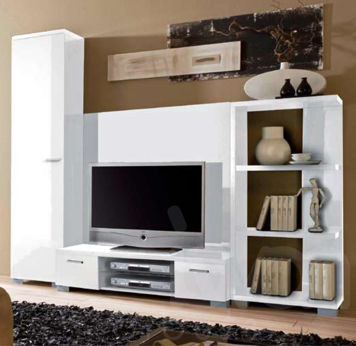 Well Known Tv Storage Units Intended For Modern Tv Cabinets And Wall Units Shelves Cabinet Design Ideas (View 13 of 15)