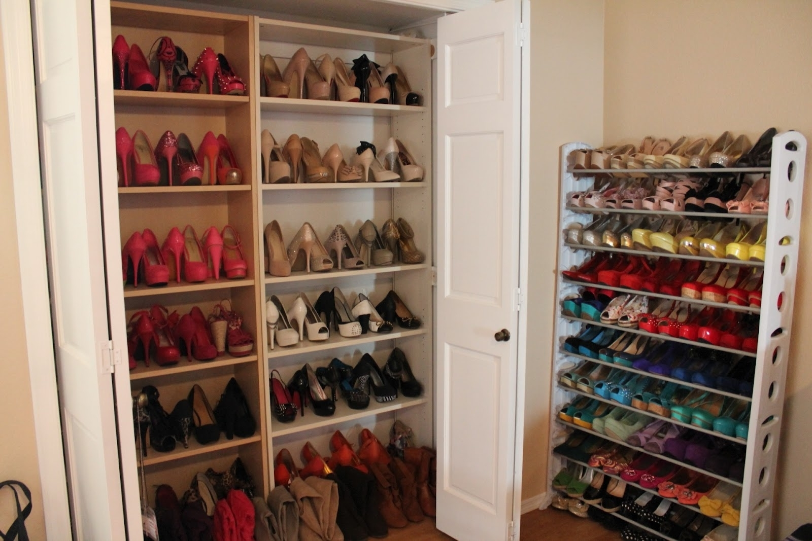 Well Known Wardrobes Shoe Storages For Closet Storage : Shoe Storage Ideas For Entryway Diy Shoe Rack (View 9 of 15)