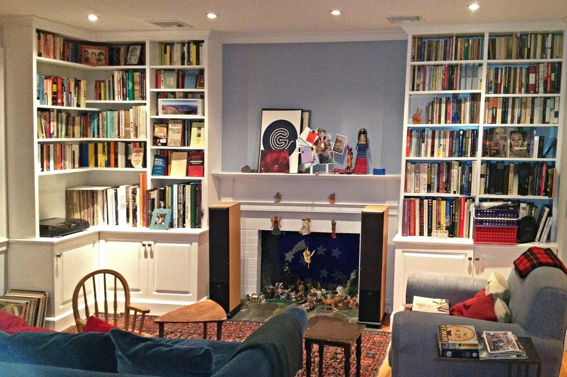 Featured Photo of Living Room Bookcases