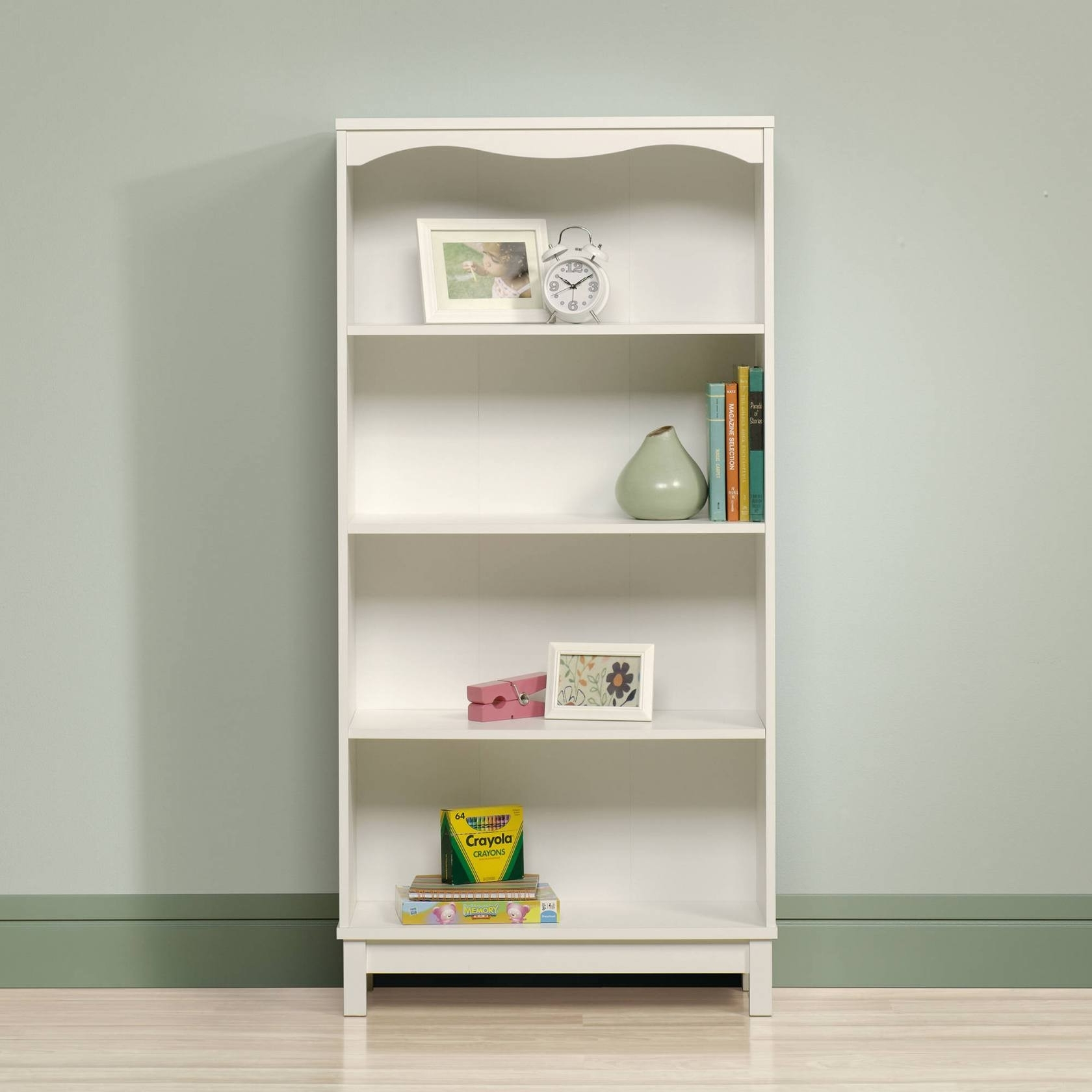 Well Known White Walmart Bookcases With Furniture : Fabulous Bookcases From Walmart New Sauder Storybook (View 10 of 15)