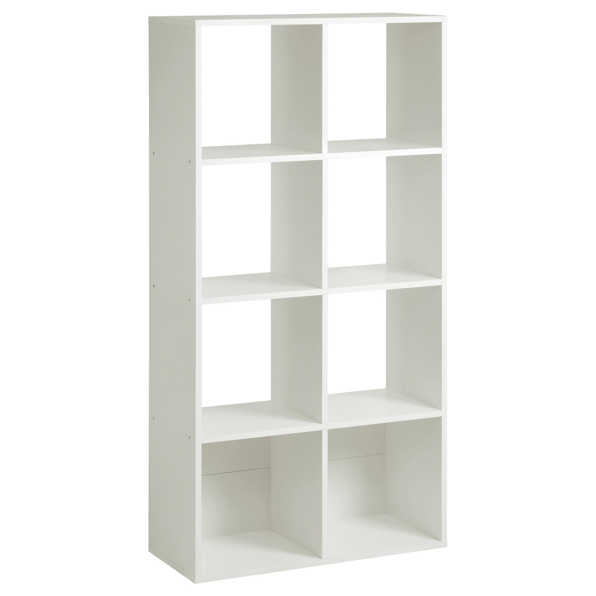 Well Liked 32 Ikea White Shelves Unit, Kallax Shelving Unit High Gloss White In White Shelving Units (View 10 of 15)
