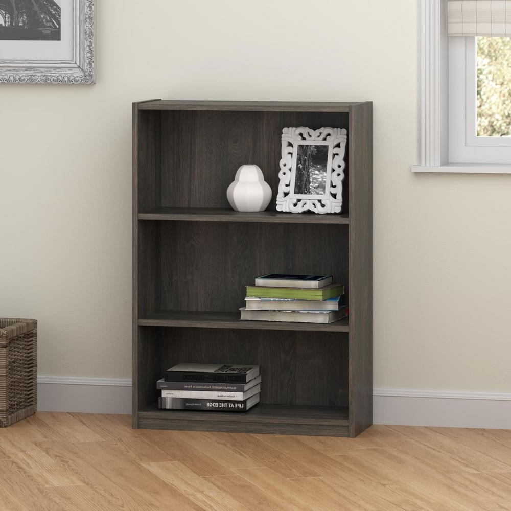 Well Liked Altra Furniture Core Rodeo Oak Open Bookcase 9424213pcom – The In Ameriwood 3 Shelf Bookcases (View 7 of 15)