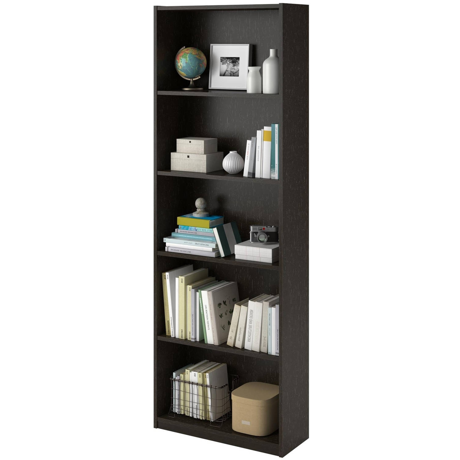 Well Liked Ameriwood 5 Shelf Bookcases, Set Of 2 (mix And Match) – Walmart Within White 5 Shelf Bookcases (View 14 of 15)
