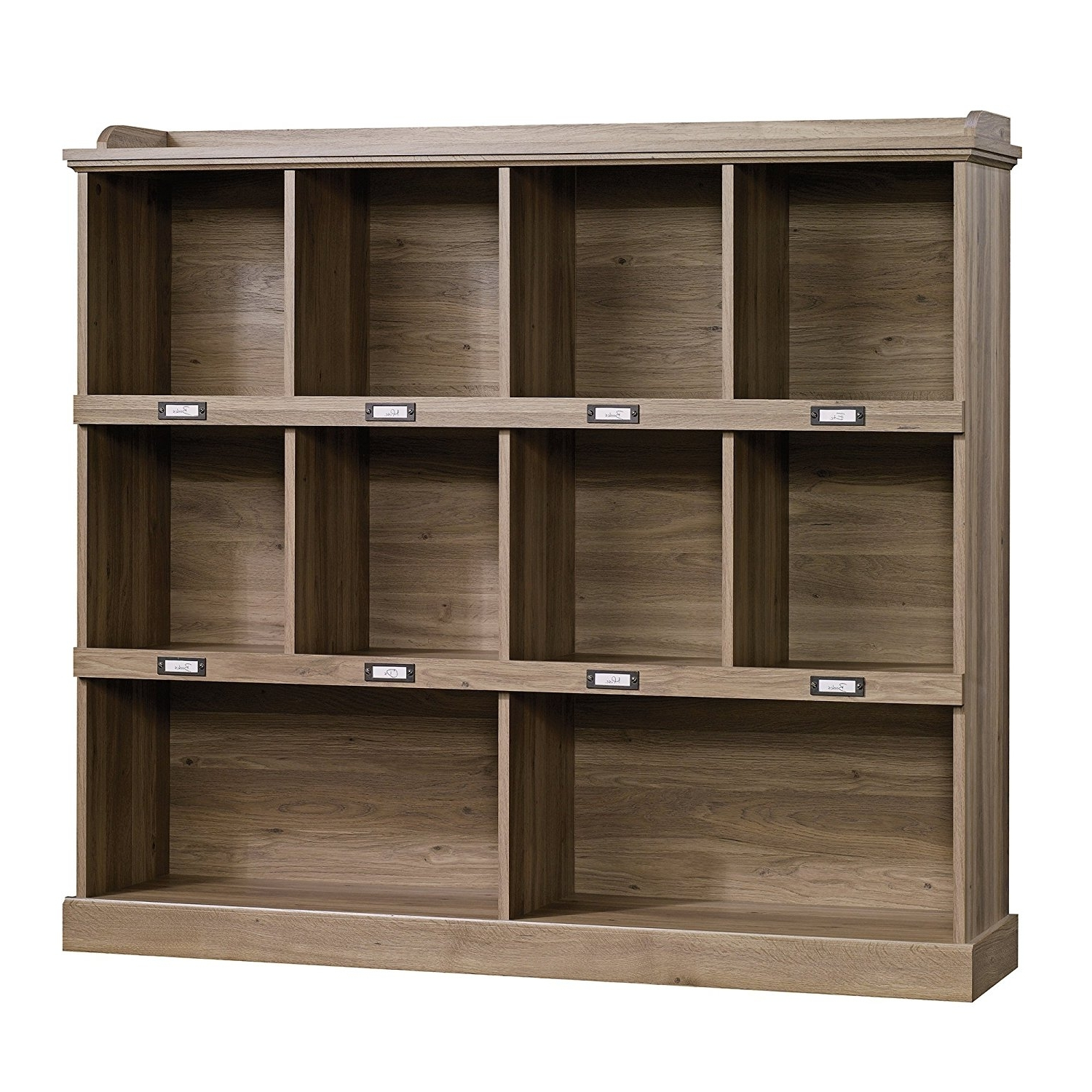 Well Liked Barrister Lane Bookcases Regarding Amazon: Sauder Barrister Lane Bookcase In Salt Oak: Kitchen (View 15 of 15)