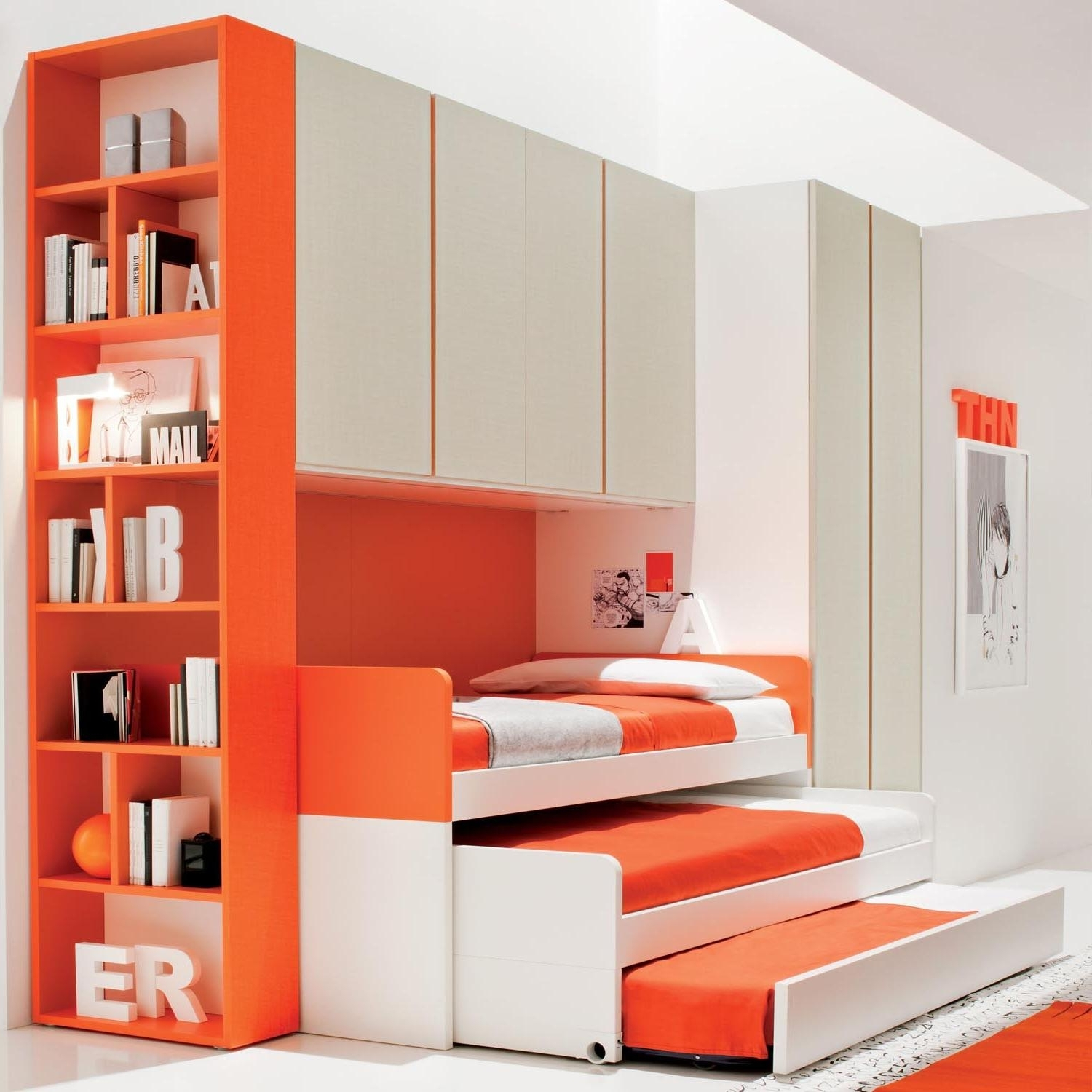 Well Liked Bedroom : Shelves For Boys Room Childrens Storage Furniture With Childrens Bedroom Wardrobes (View 14 of 15)