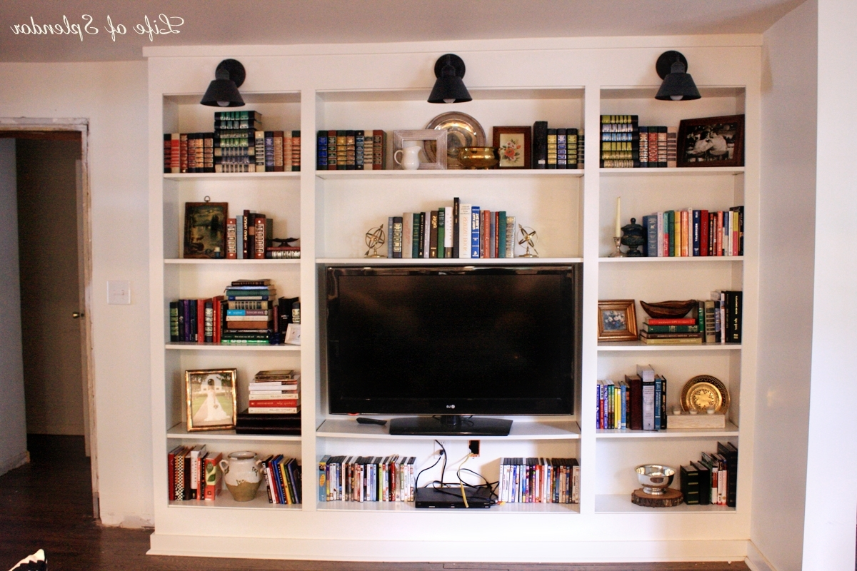 Well Liked Bookshelf Styling Take 1 Of 283,457 – Thewhitebuffalostylingco For Tv Book Shelf (View 3 of 15)