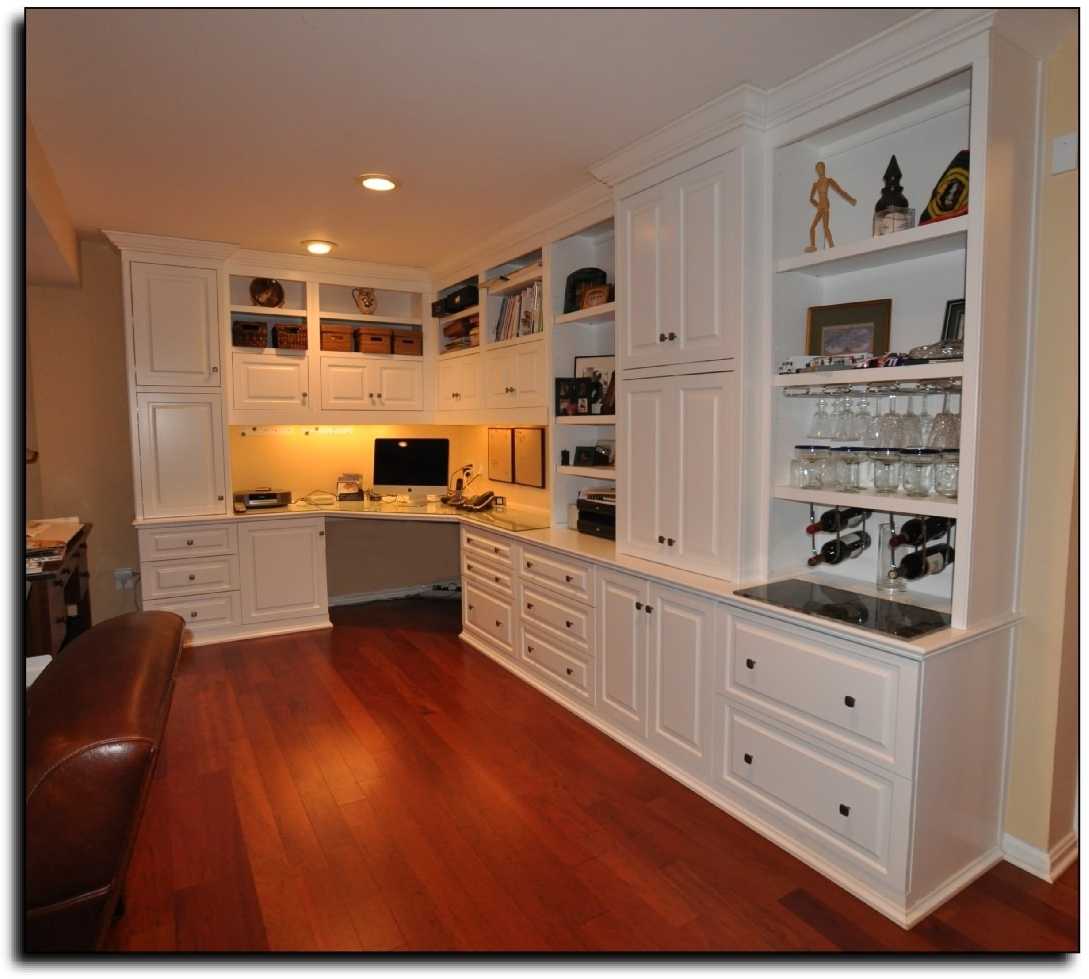 Well Liked Built In Study Furniture Within Home Office Study Design Ideas Home Office Built In Desk And (View 15 of 15)