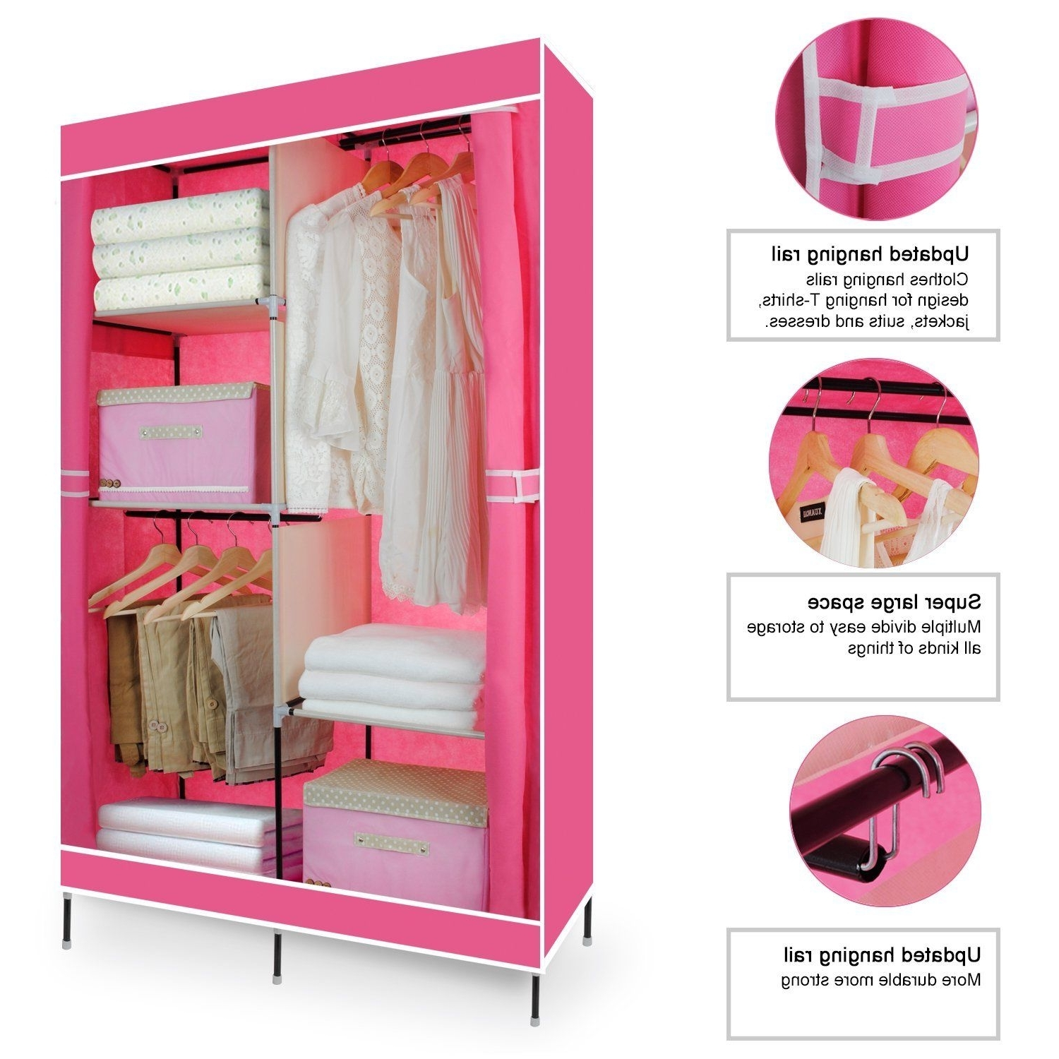 ideas organizer closet spaces for small wardrobes open clothing wardrobe