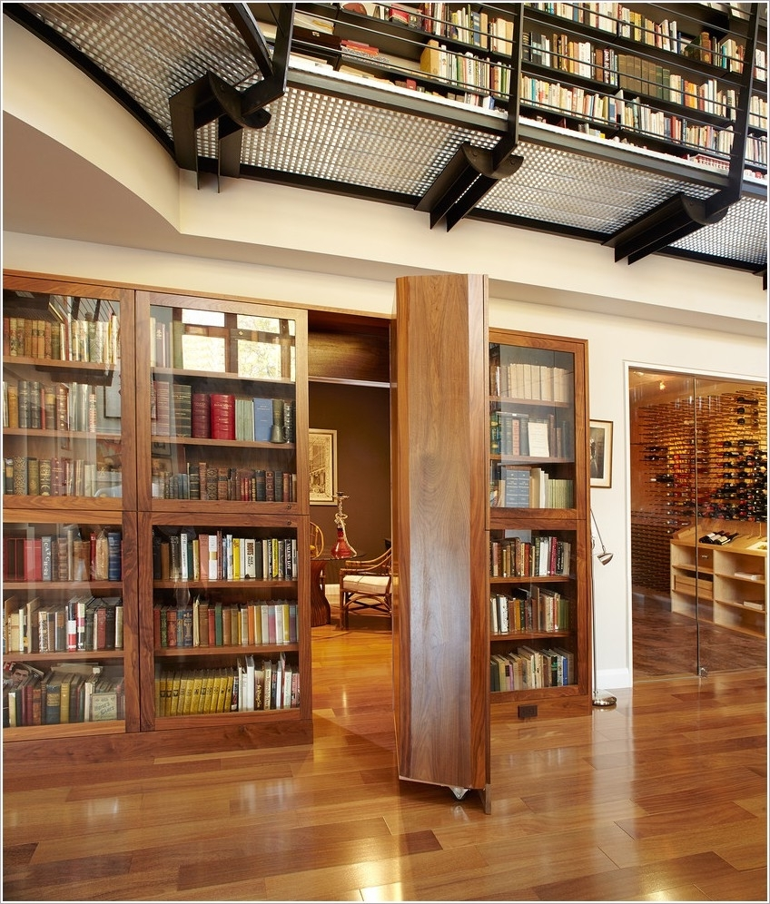 Well Liked Hidden Door Bookcases In New York Book Shelves Bookcase Bookshelves Catwalk Custom Bookcase (View 15 of 15)