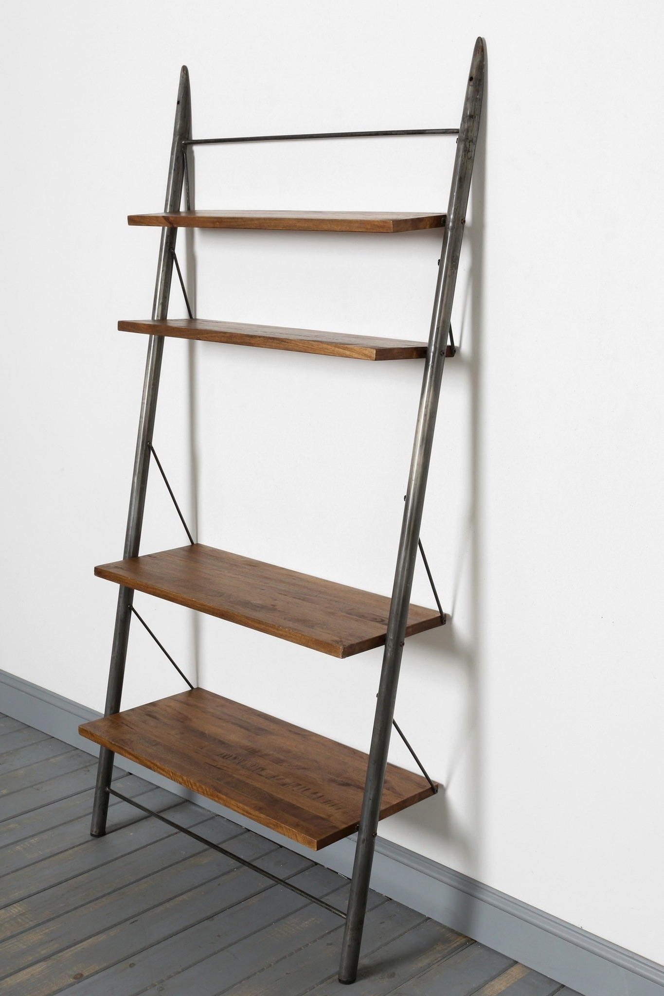 Well Liked Leaning Bookcases For Contemporary Leaning Bookcase Ideas: Three Leaning Bookcases With (View 5 of 15)