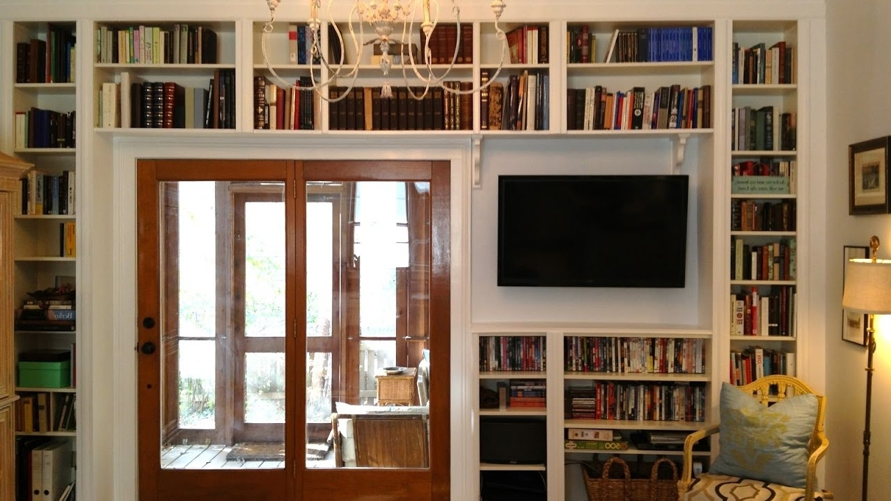 Well Liked Library Shelves For Home Inside Modern Library Shelves – Youtube (View 12 of 15)