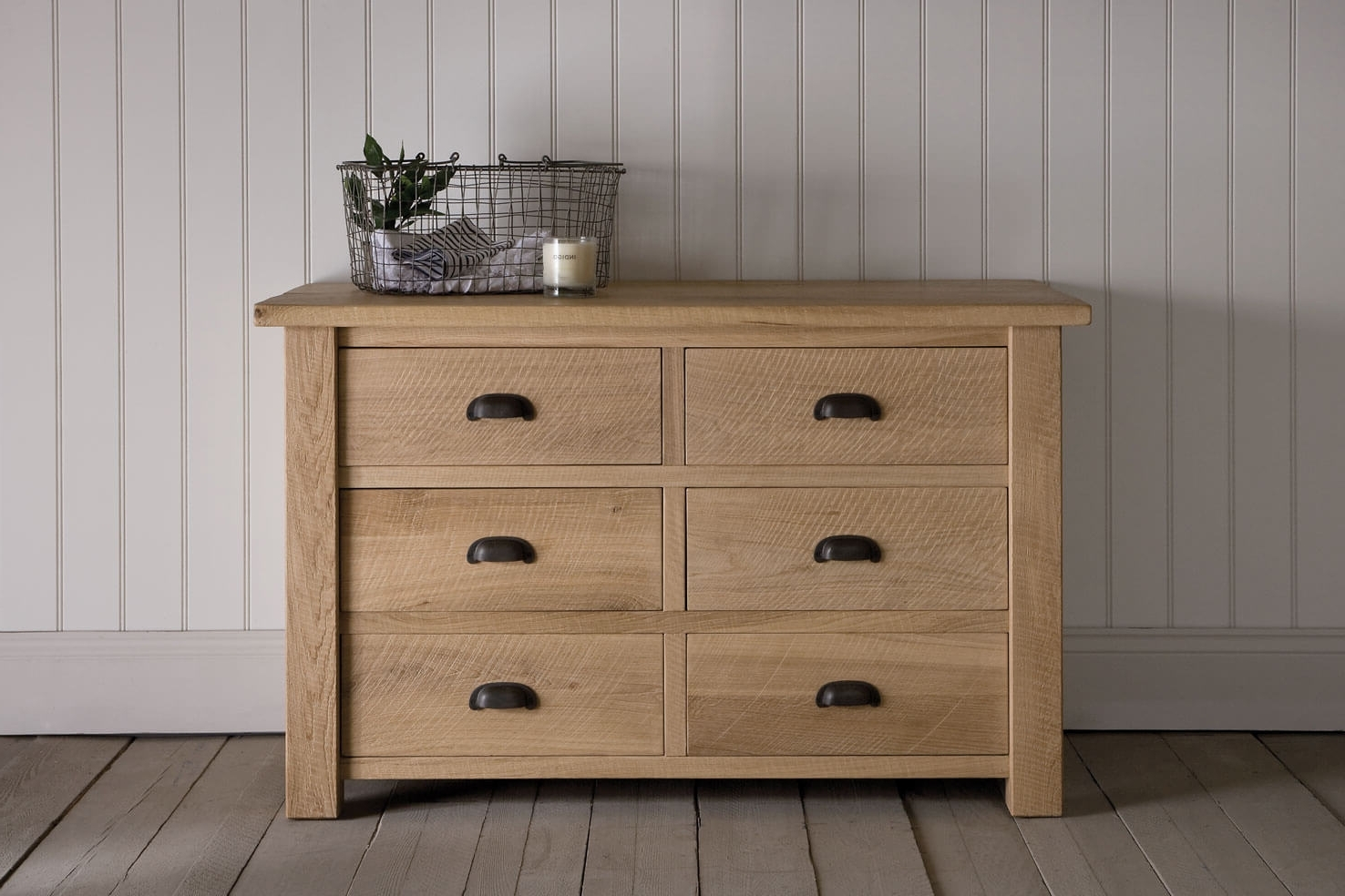 Well Liked Oak Linen Cupboard With Oak Linen Cupboard, Handcraftedindigo Furniture (View 2 of 15)