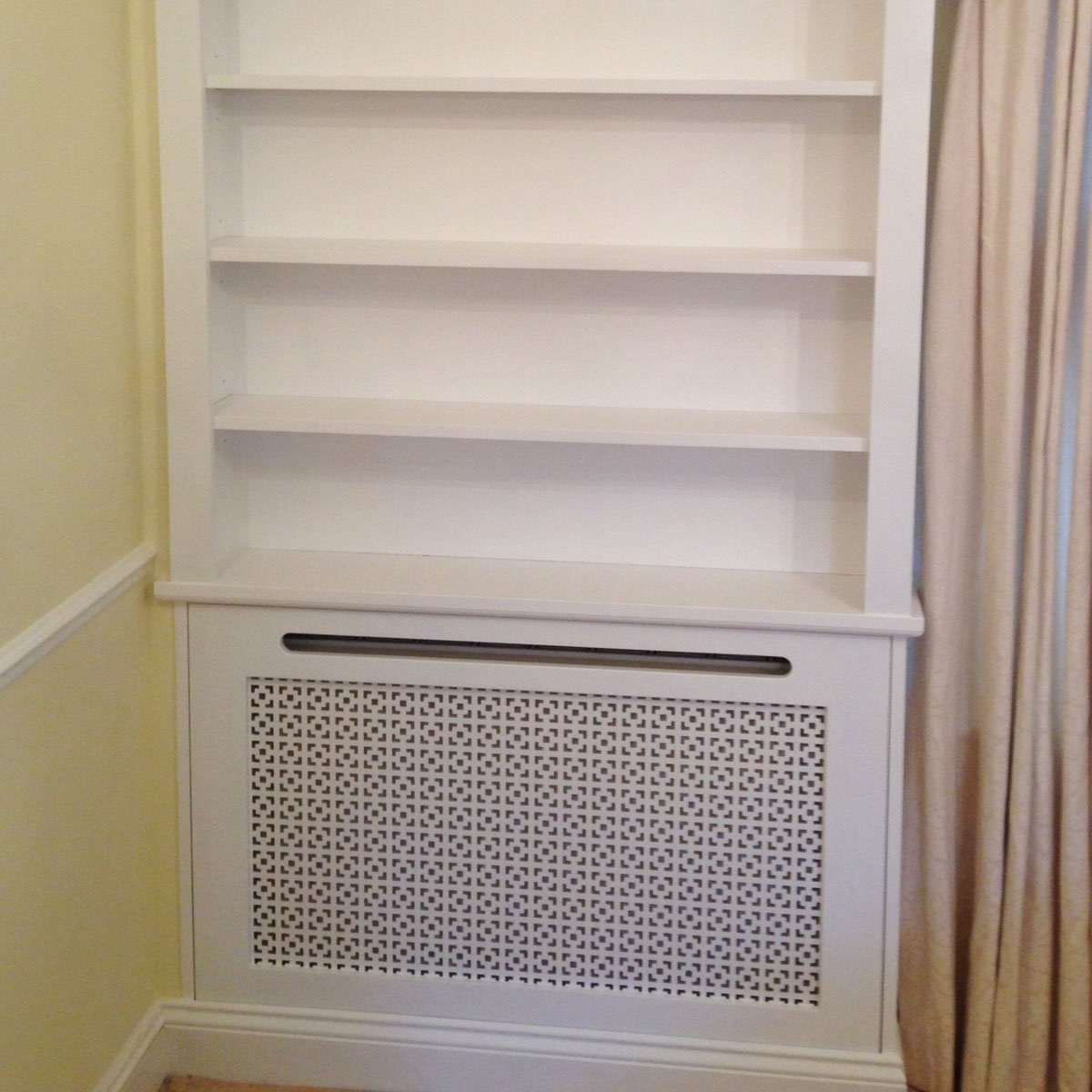Well Liked Radiator Covers With Bookshelves Inside Hide Ugly Radiators With These 12 Clever Cover Ideas (View 7 of 15)