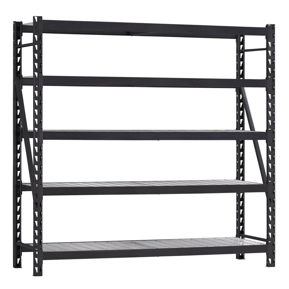 Well Liked Storage Shelving Units Regarding Husky 90 In. H X 90 In. W X 24 In (View 15 of 15)