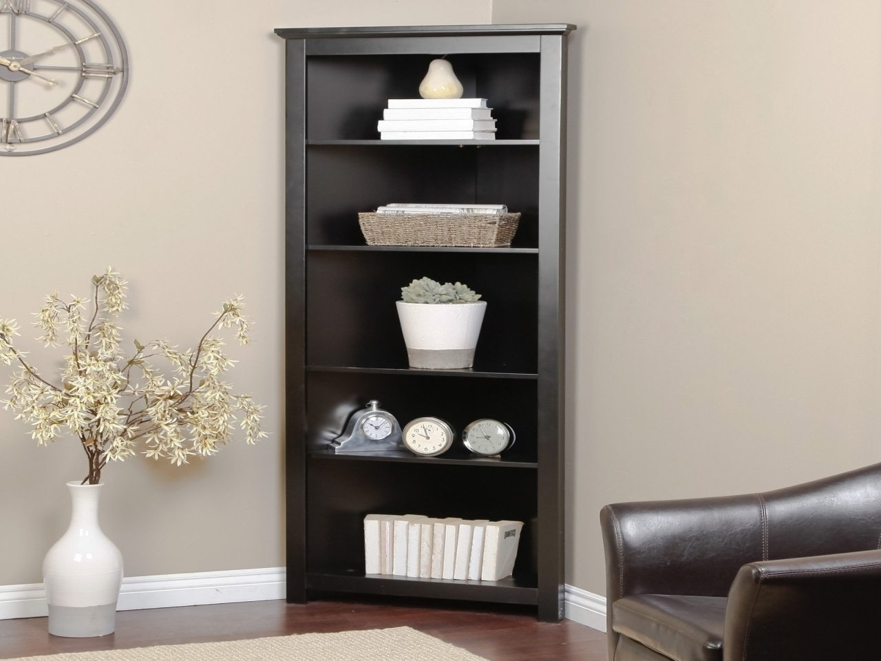 Well Liked Wildon Home Bookcases With Fascinating Corner Unite Photo Conceptwildon Home White With (View 12 of 15)