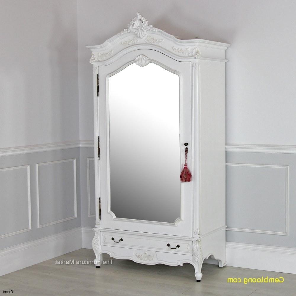 White Armoires Beautiful Armoire Wardrobe White – Home Interior Within Newest White Wardrobes Armoire (View 2 of 15)