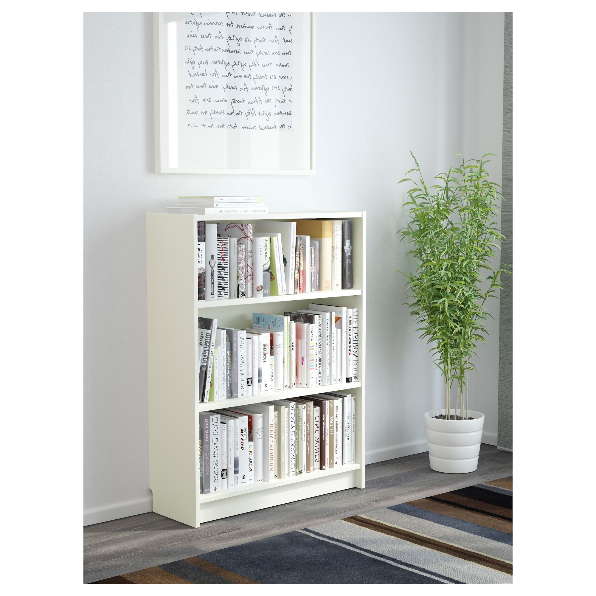 White Billy Bookcases For Latest Billy Bookcase – White – Ikea (View 11 of 15)