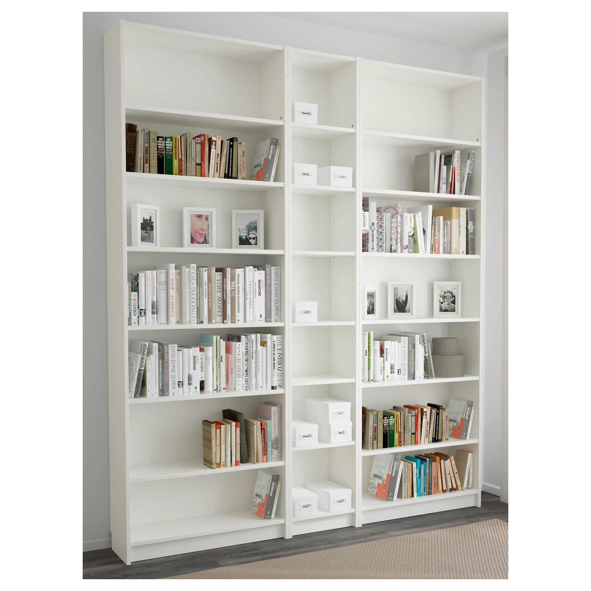 Featured Photo of White Billy Bookcases