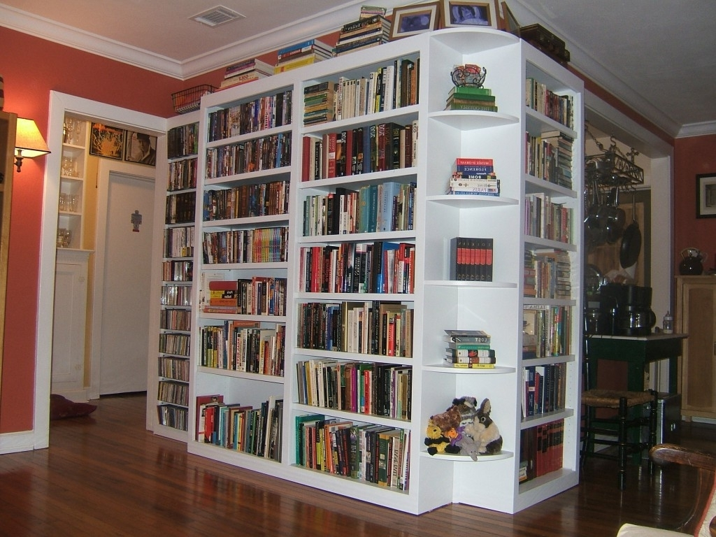 White Book Case Furniture Cool Library Design Ideas In Private Regarding Popular White Library Bookcases (View 10 of 15)