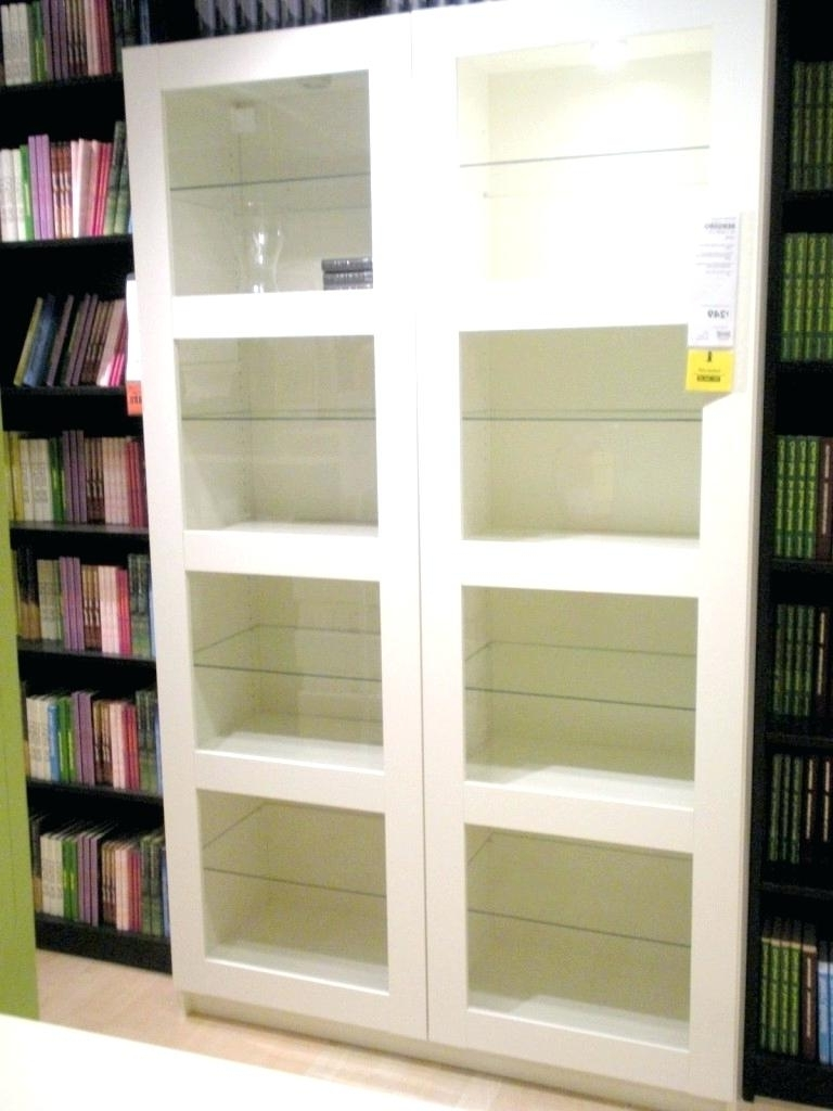 White Bookcases With Glass Doors Inside Current Decoration: White Bookcases With Glass Doors (View 13 of 15)