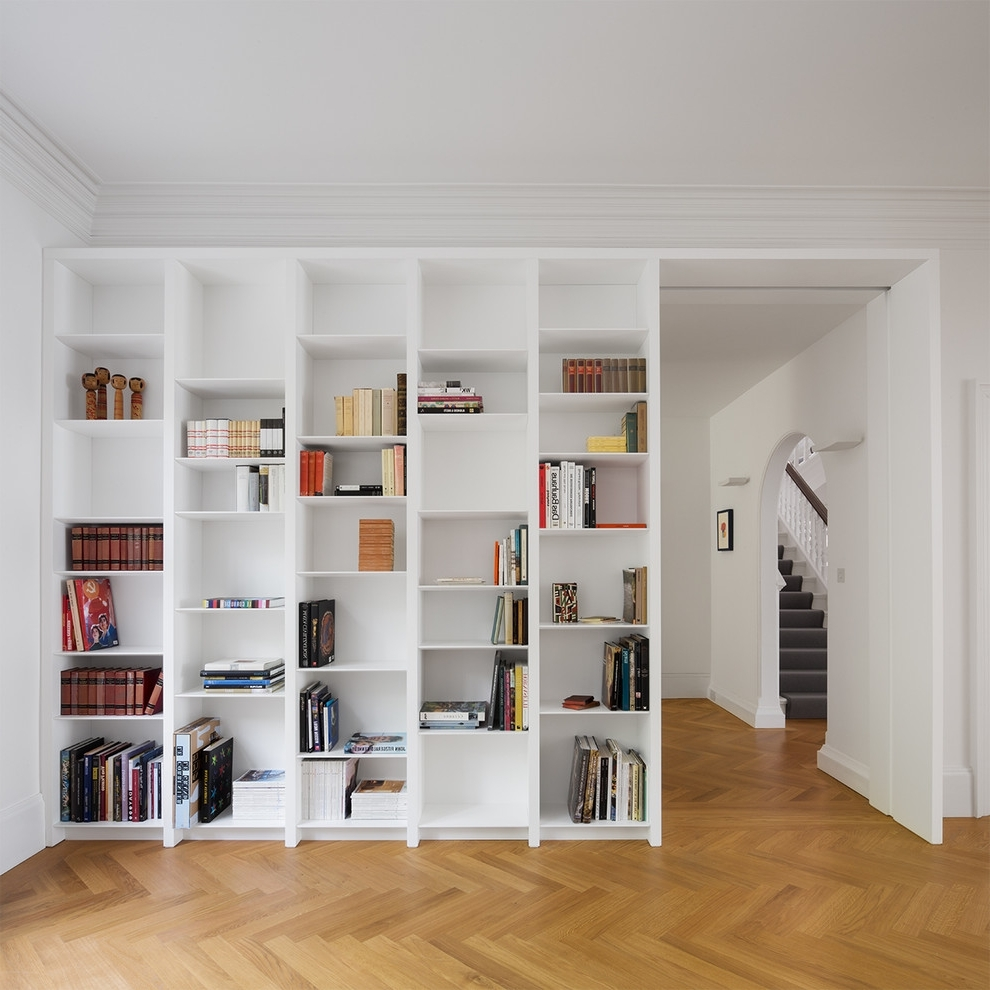 White Wood Bookcases Pertaining To Popular White Wood Bookshelves Fascinating Bookshelf Design Ideas For (View 13 of 15)